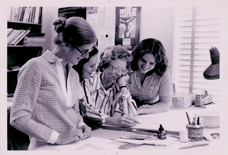 Marilyn as a teacher.