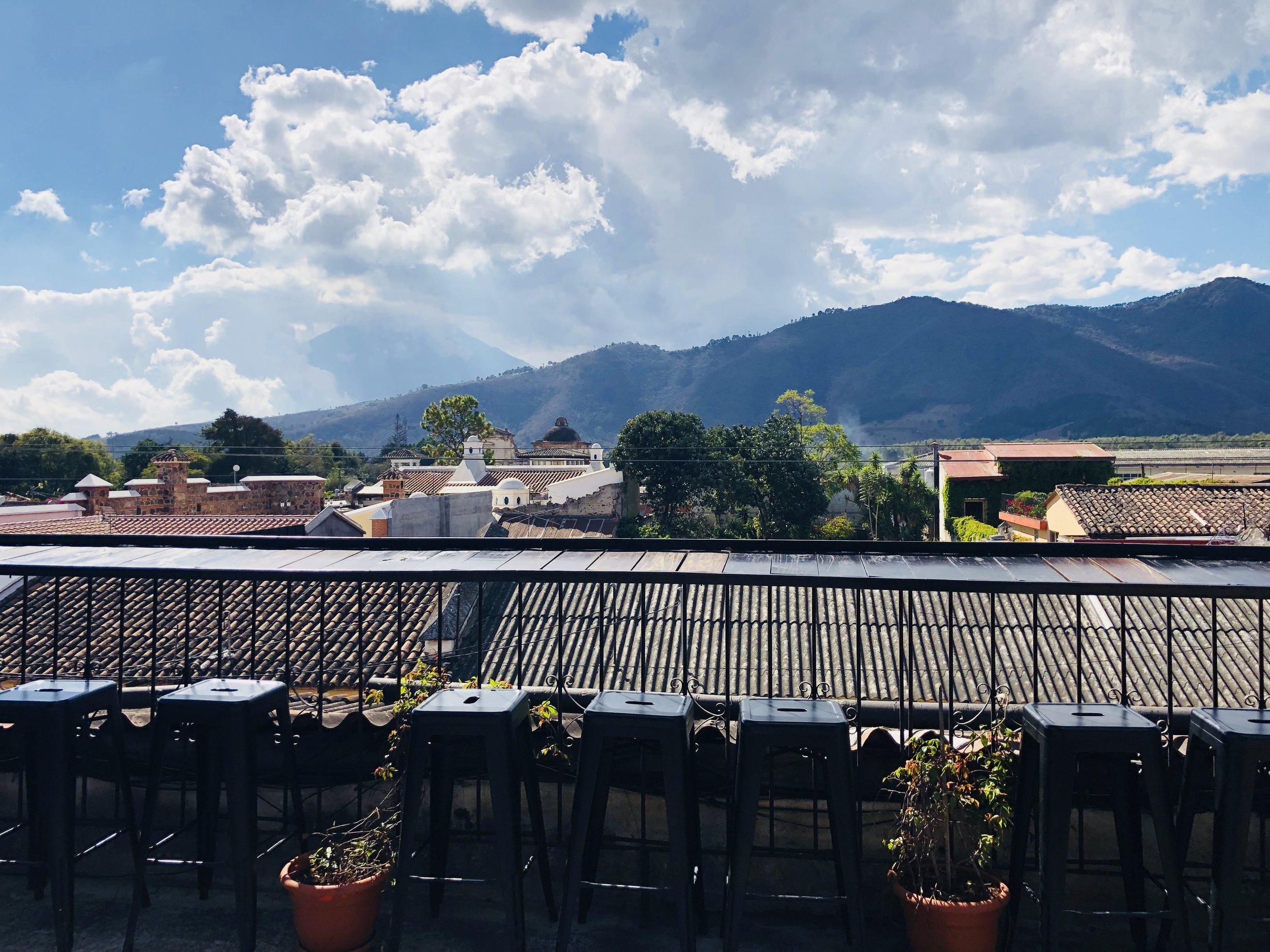 View from Bella Vista Coffee