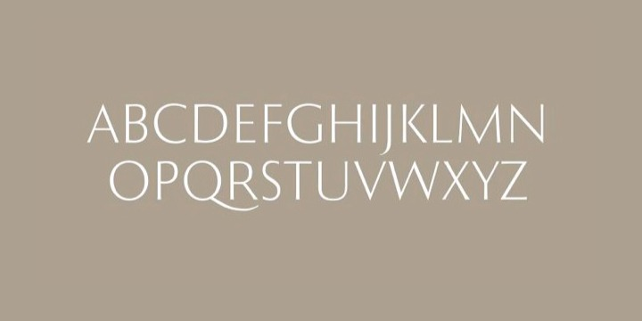 Roma typeface designed by Tom Lincoln