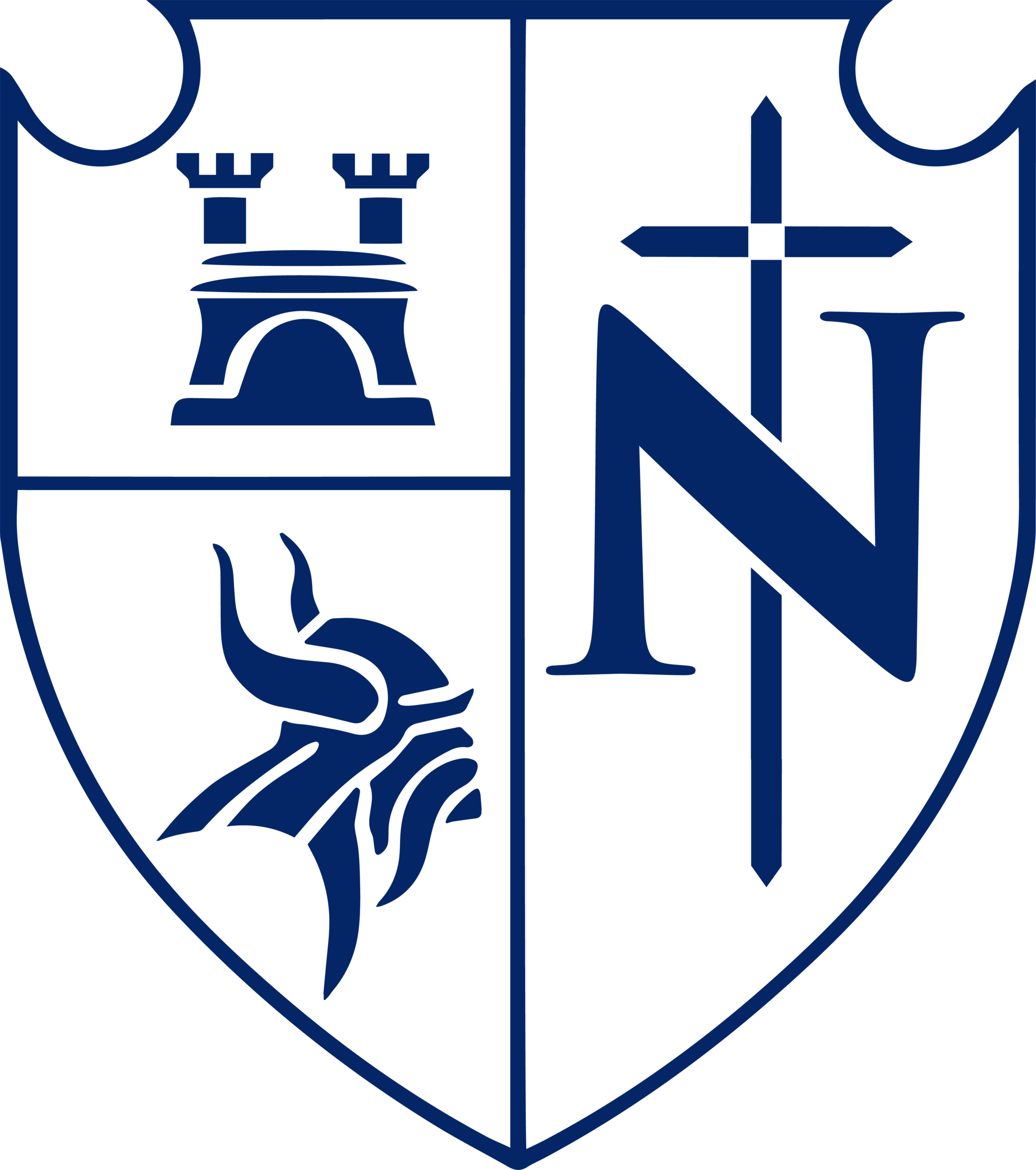 NCHS Shield (Viking Blue) REDUCED.png