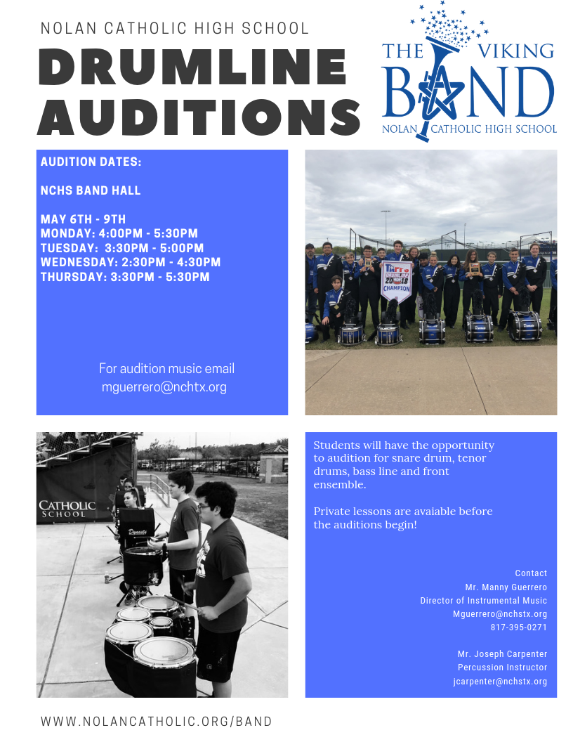 NCHS drumline Auditions 2019.png