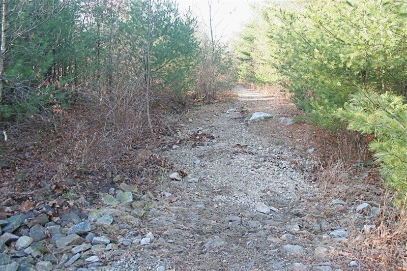 When the trail was eroding away