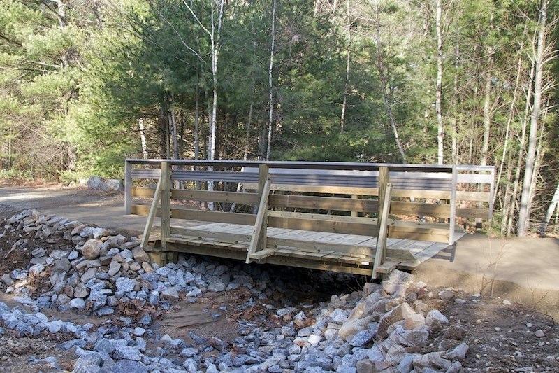The finished bridge