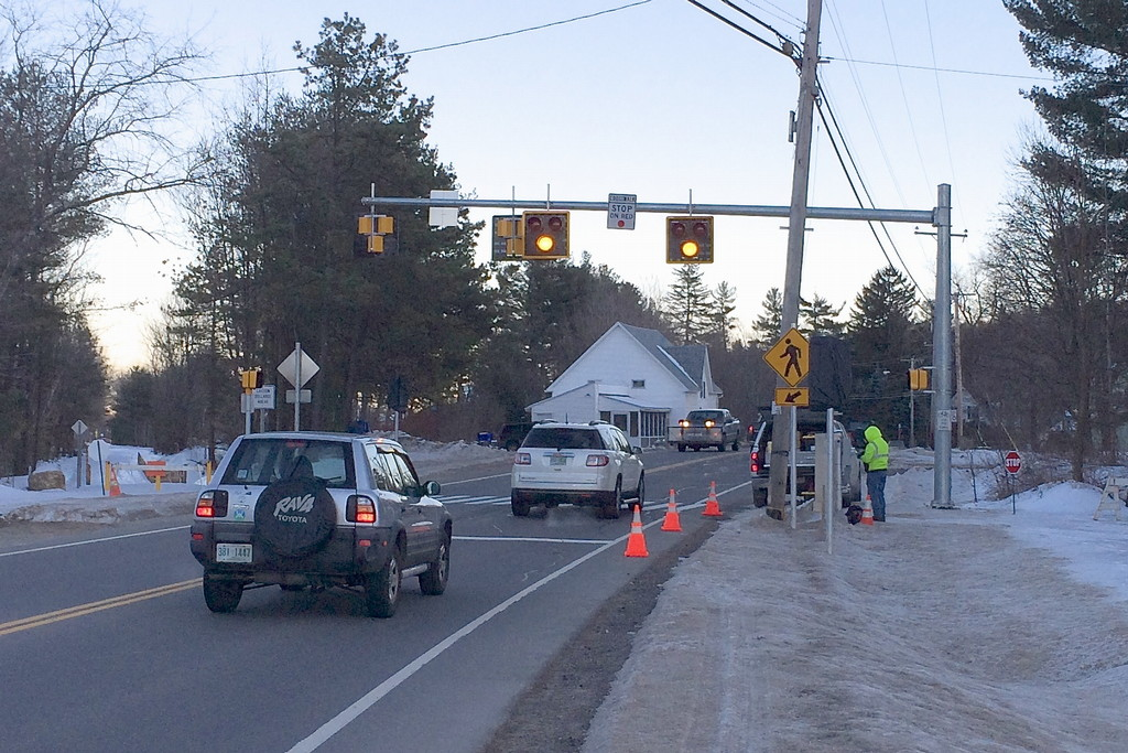Final testing of the PHB lights at the eastern Mast Road crossing