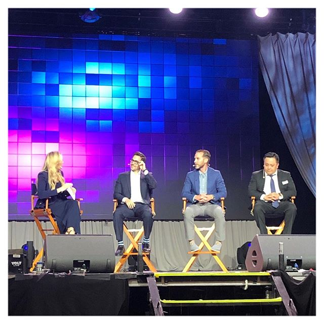 We were honored and excited to present, speak and share the stage with @pitbull @tonyrobbins @trentshelton @robertherjavec  at #realestatewealthexpo2019