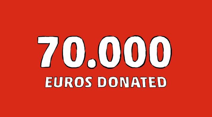 70 Euors donated.jpg