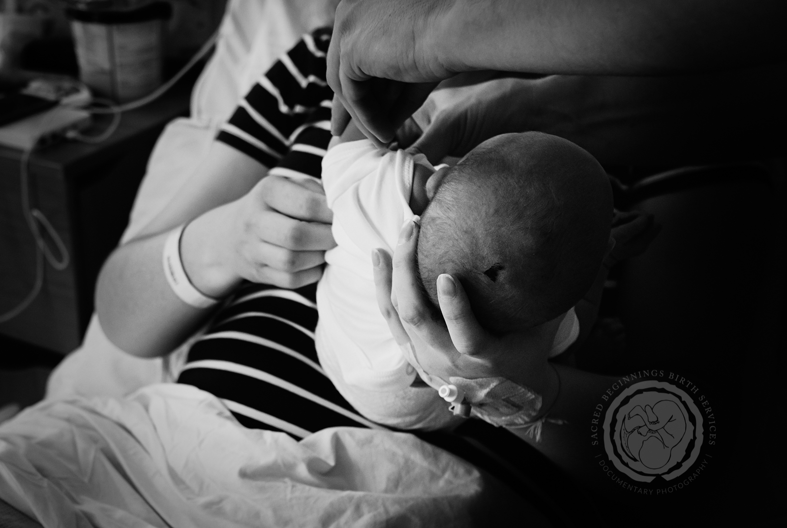 EVERY BABY HAS A STORY TO TELL. -