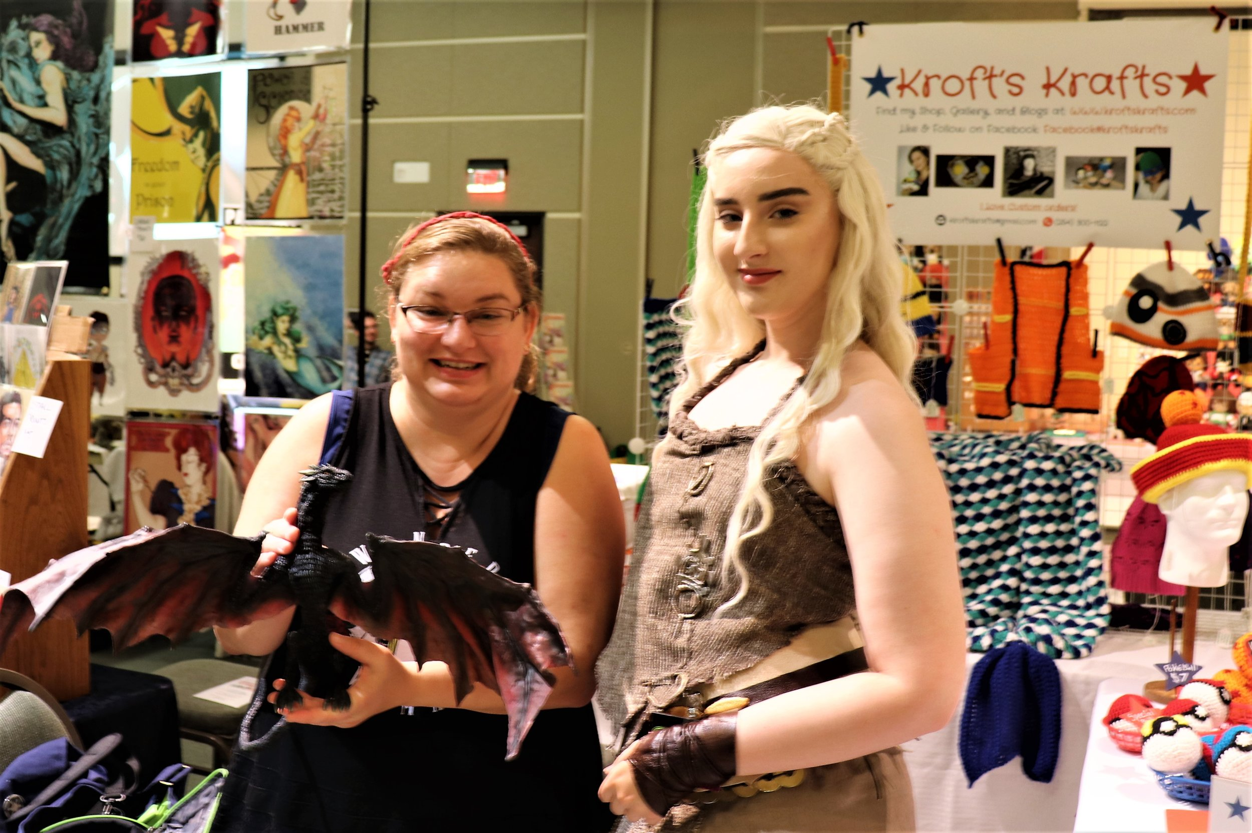 OH I was SO Excited to see The Mother of Dragons, Daenerys Targaryen.  You can click this picture to link to her Instagram or search _Twipz to see more amazing cosplay.