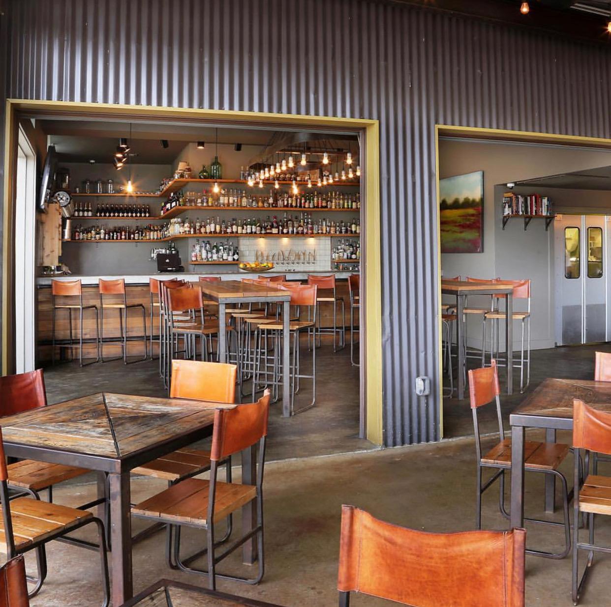 Indoor Bar & Seating
