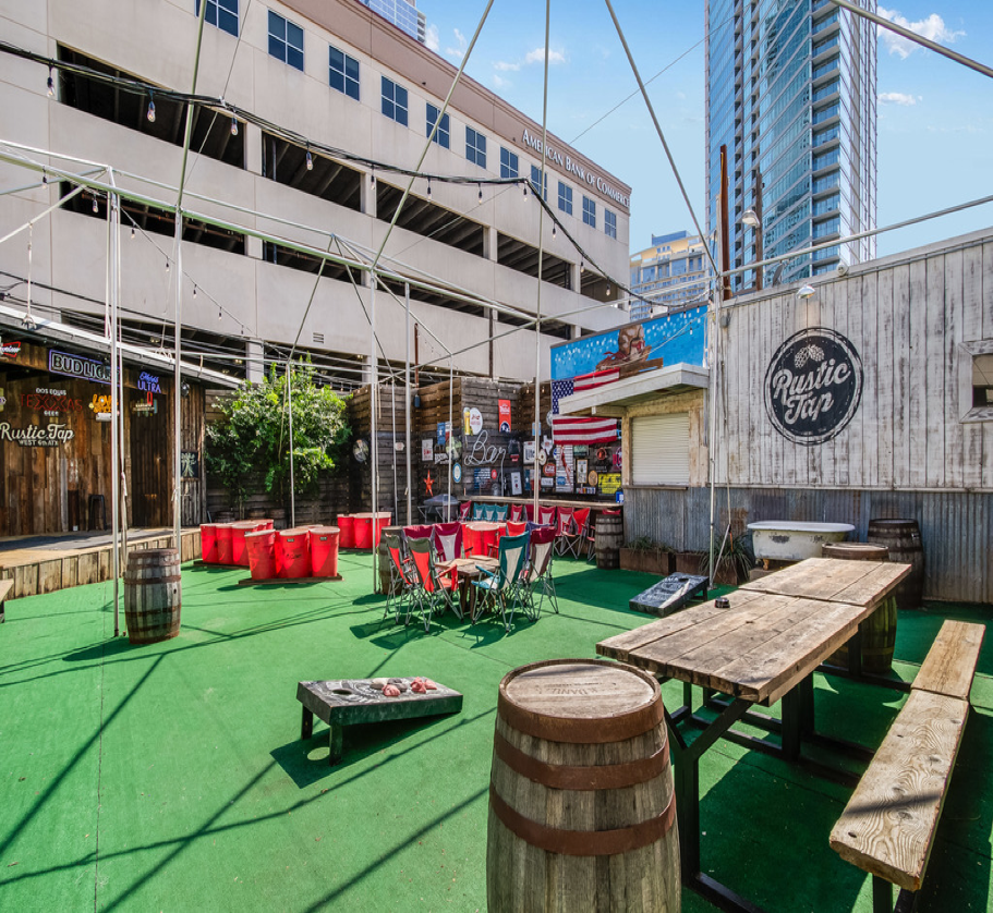 Rent Reserve Rustic Tap SXSW 2020 Event Rental Music Space