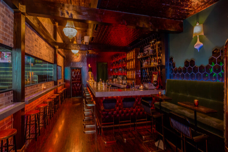 Benny's Room—Private speakeasy located inside Green Light Social—up to 40 Guests -