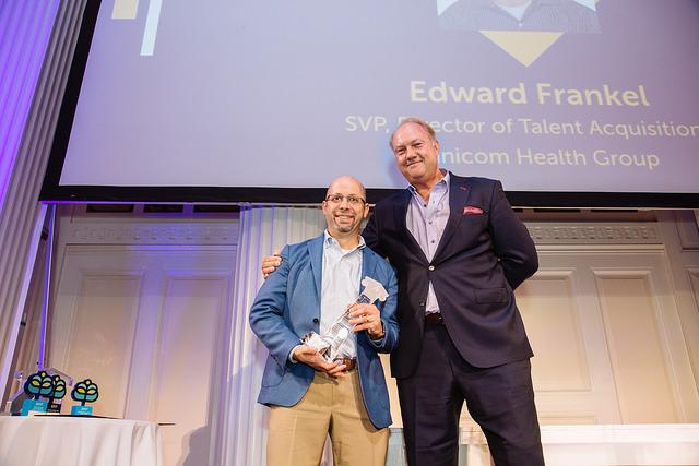 Edward Frankel, 2017   SVP, Director of Talent Acquisition   Omnicom Health Group