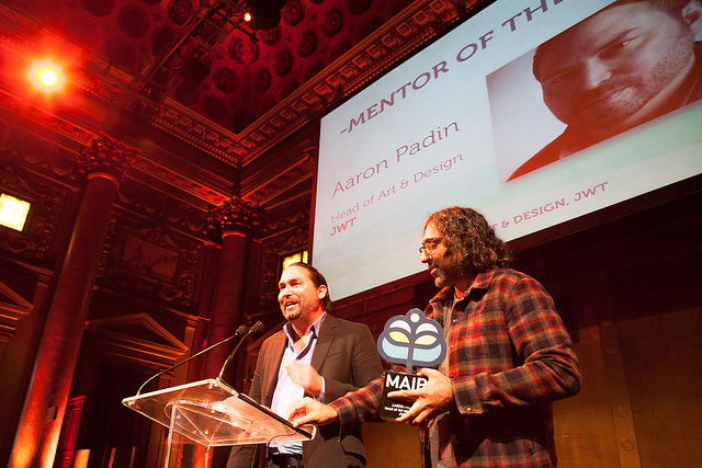 Aaron Padin, 2013   Head of Design   JWT