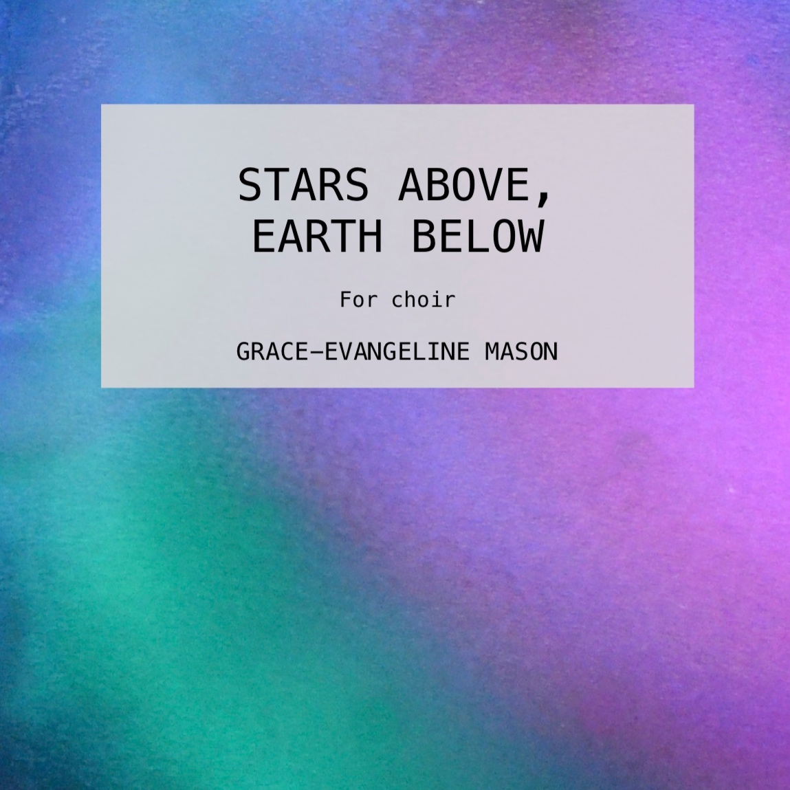 Stars Above, Earth Below (2019)