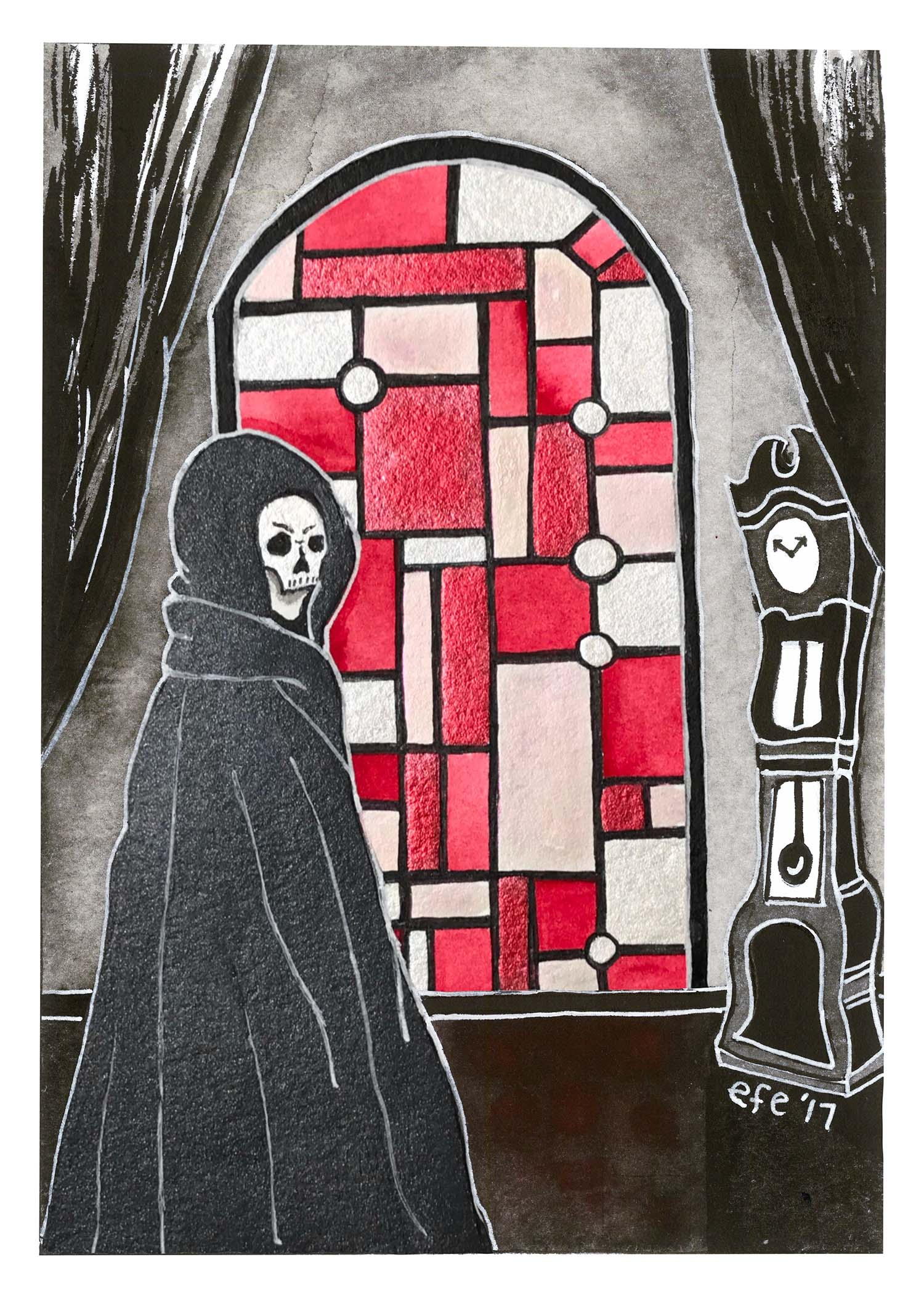 Day 08 - The Masque of the Red Death