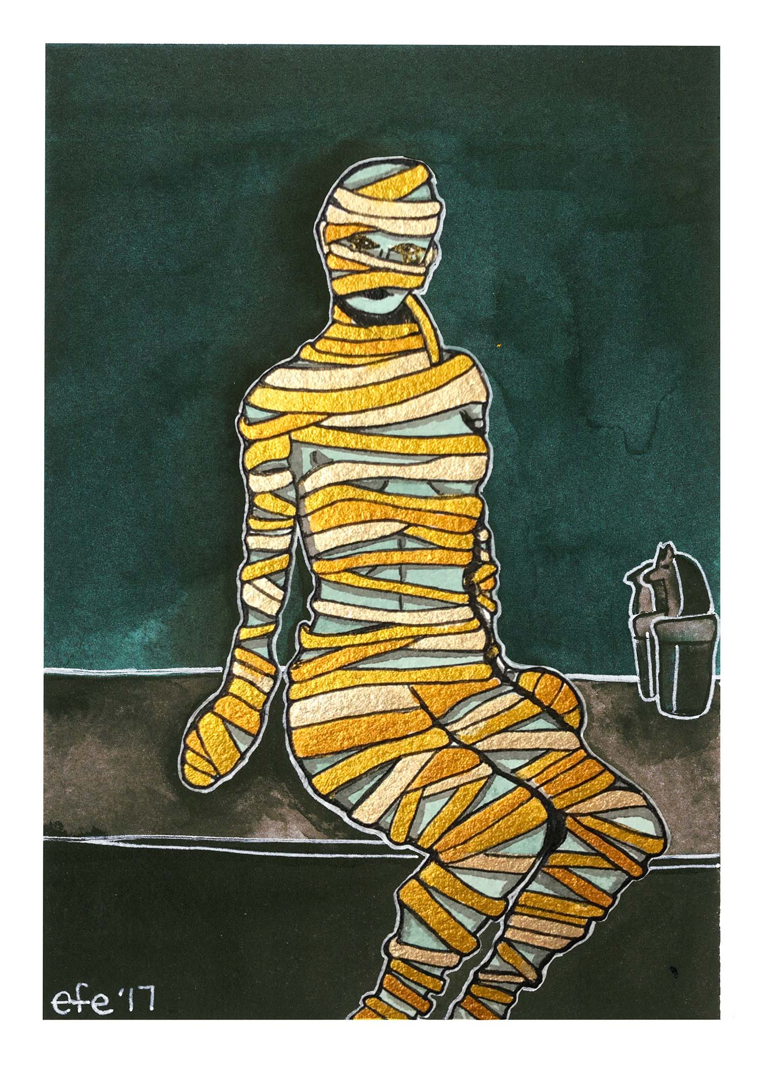Day 23 - Some Words with a Mummy