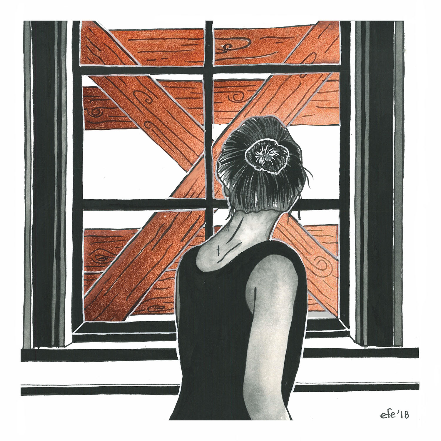Day 24 - Agoraphobia