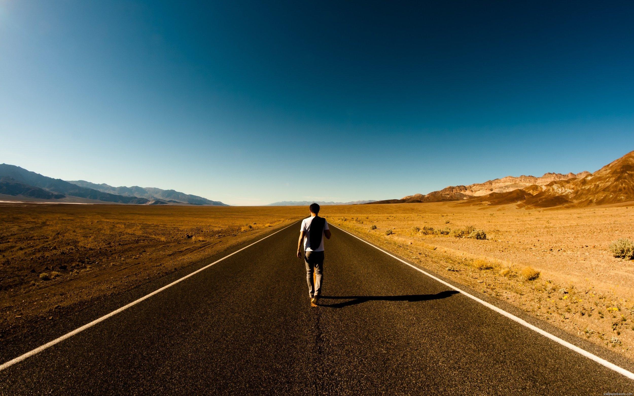 Man Walking On Highway.jpg