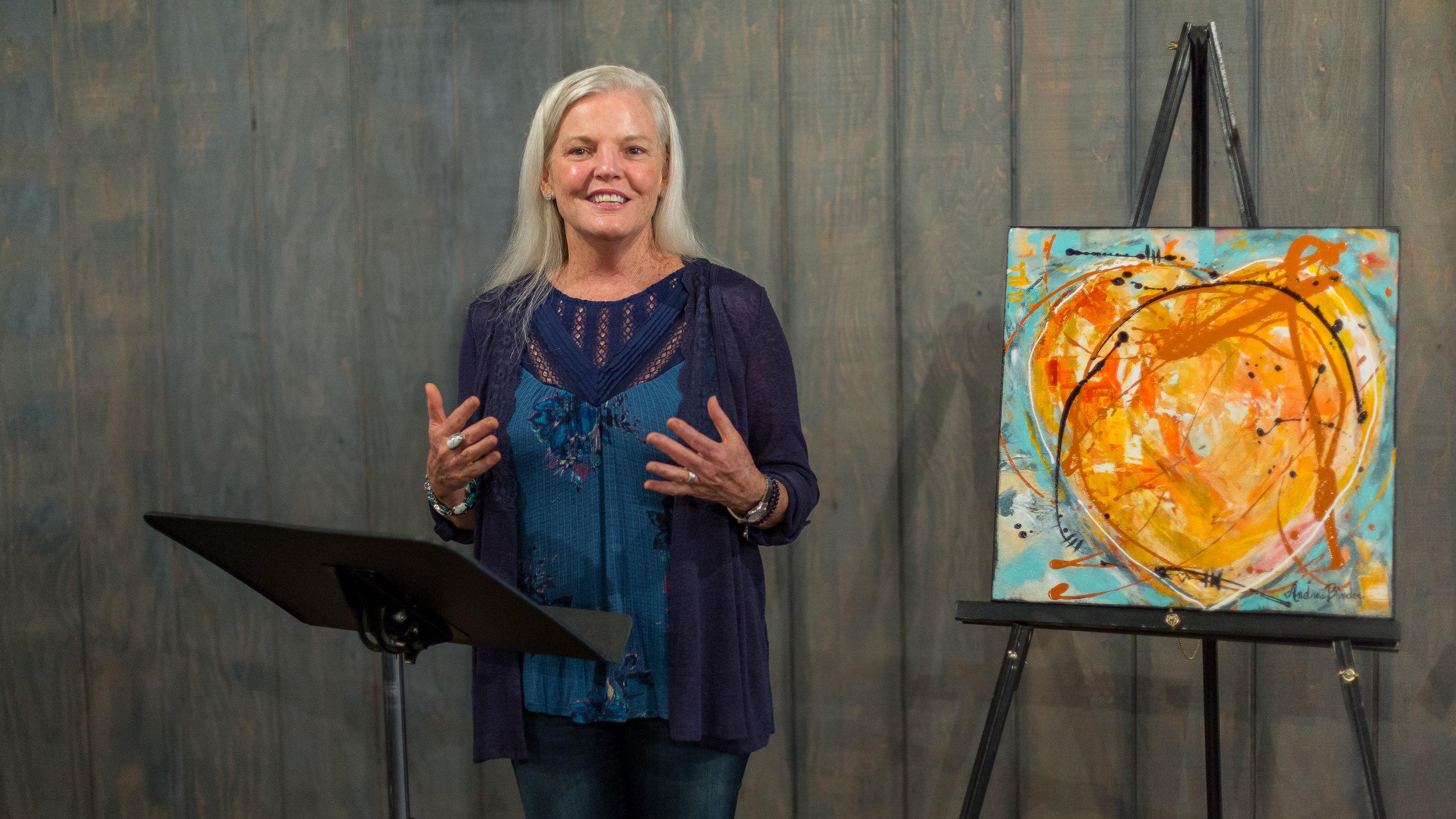 Andrea Speaking Pic.jpg