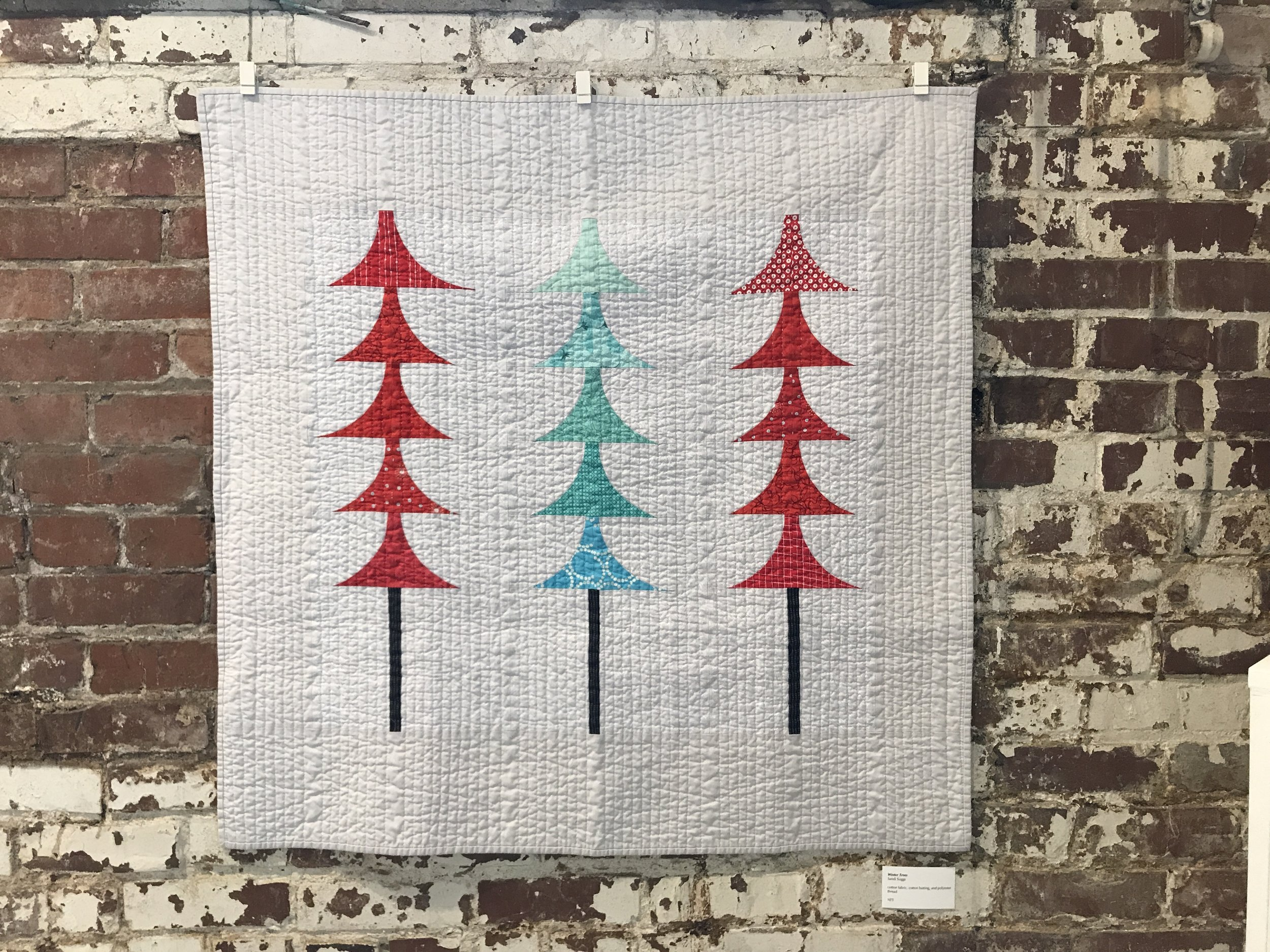 Winter Trees by Sandi Suggs