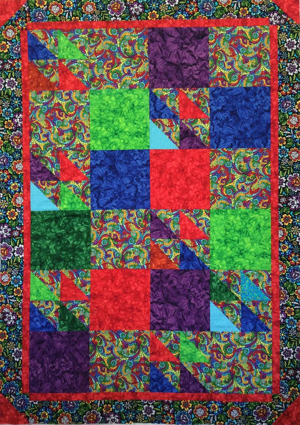 The original quilt top donated by Veronica