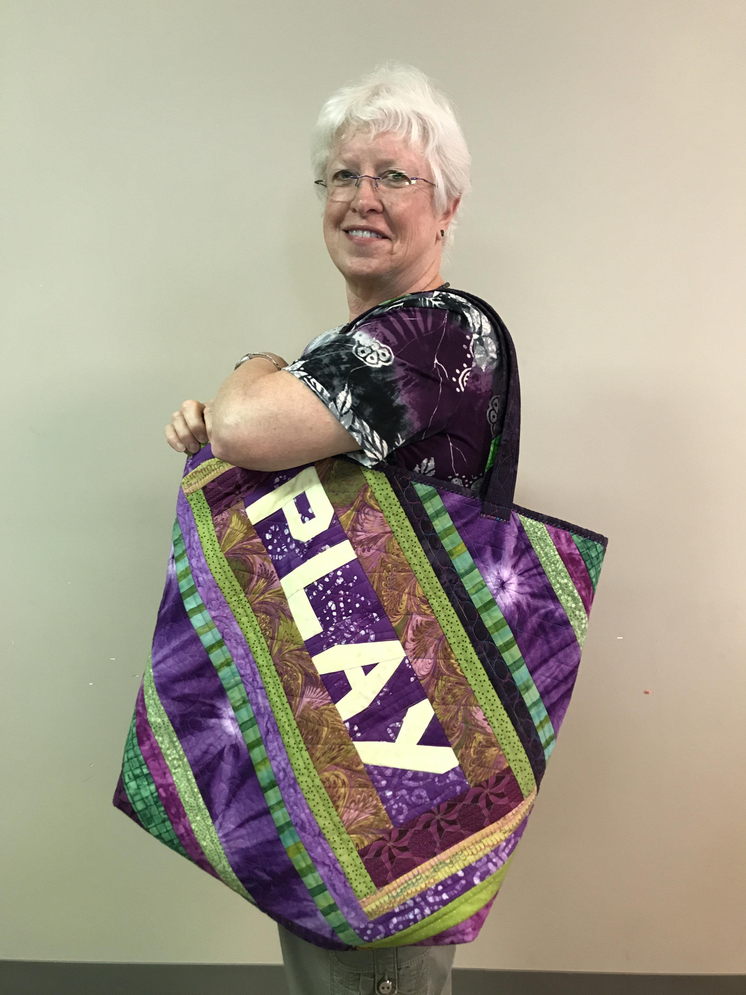 Martha Steele's playful bag