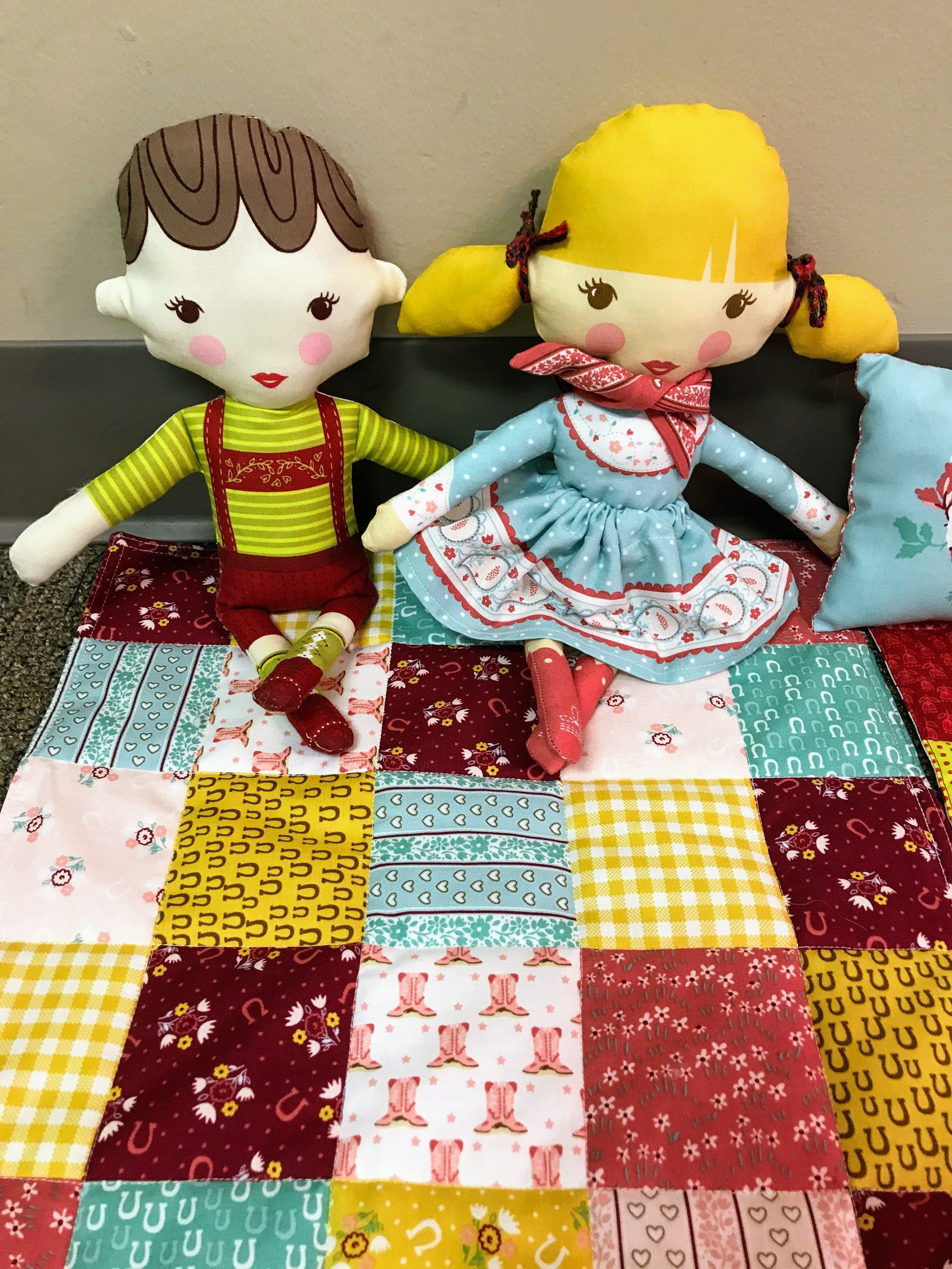 Adorable Moda dolls made by Denise Ohlman