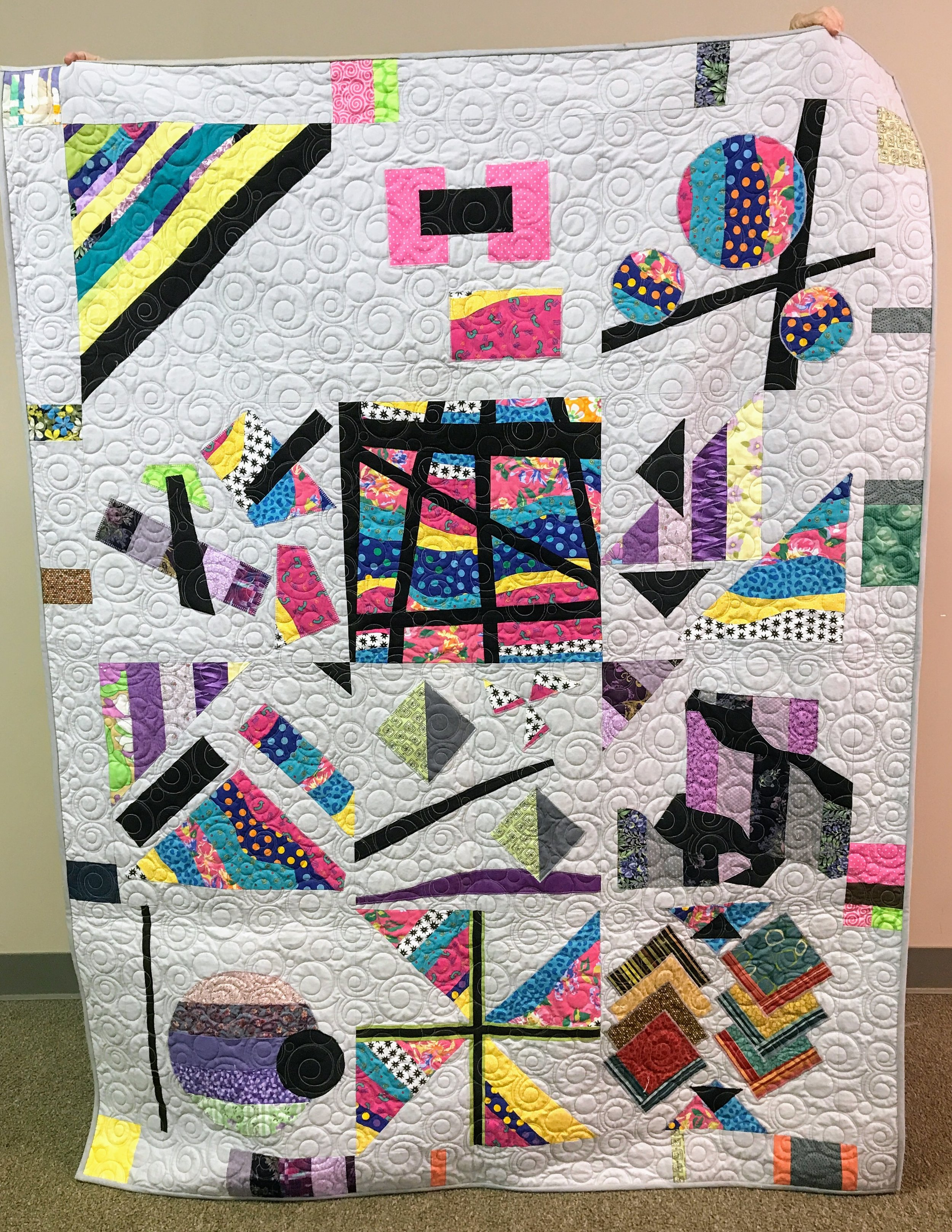 A quilt donated to Habitat for Humanity