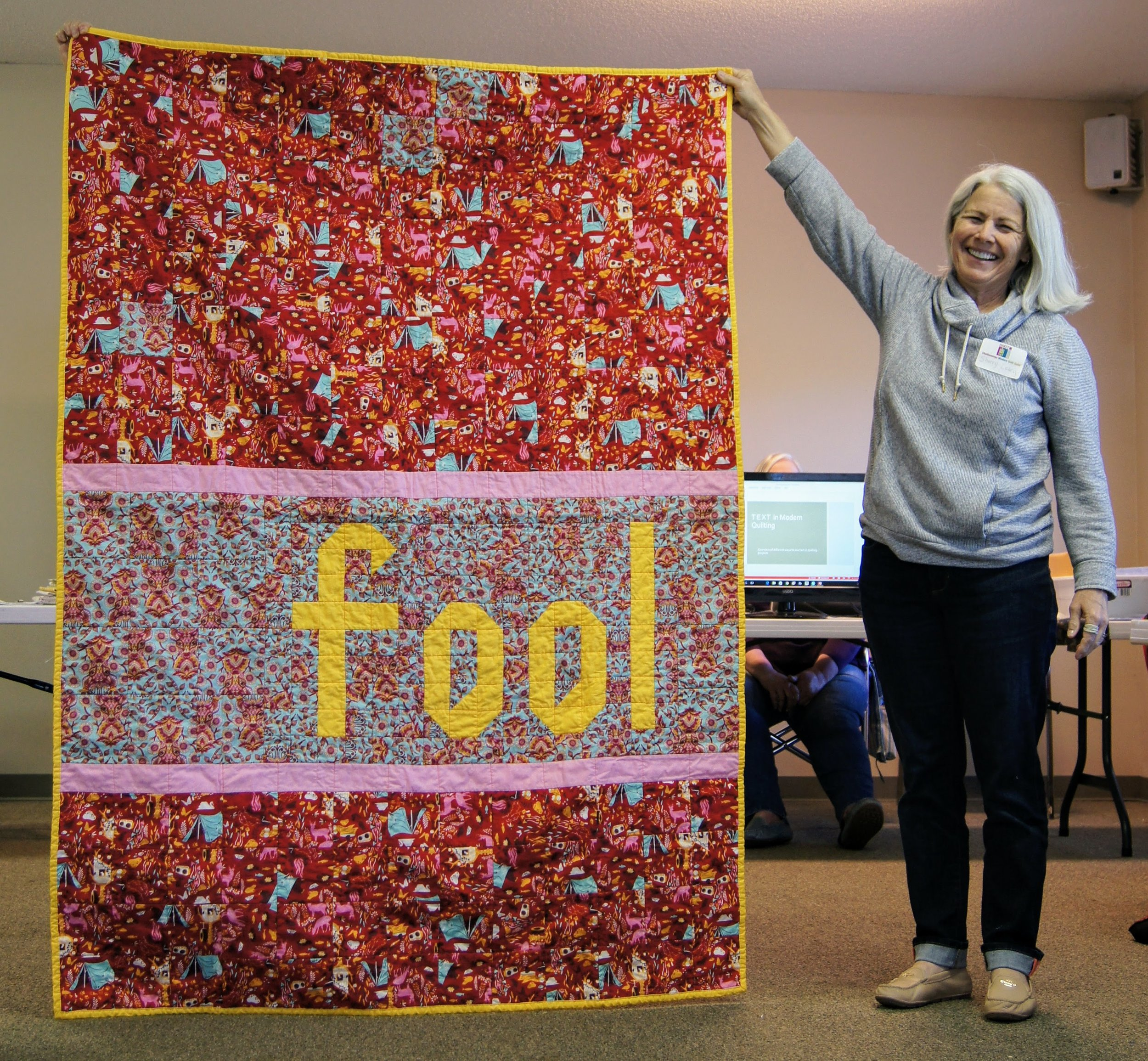 "Sherry Leary's ""Fool"" quilt"