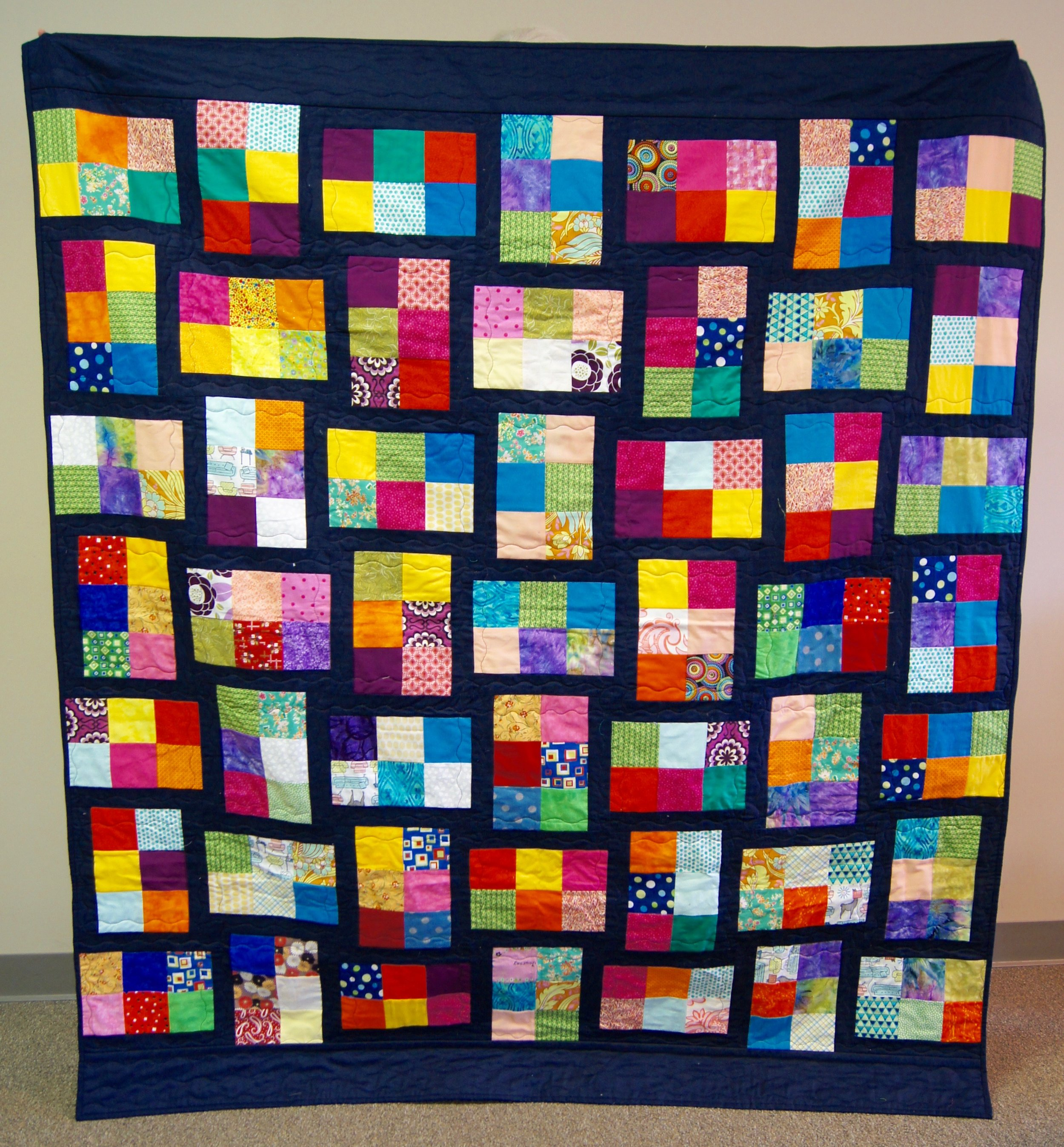 Our latest Habitat for Humanity quilt