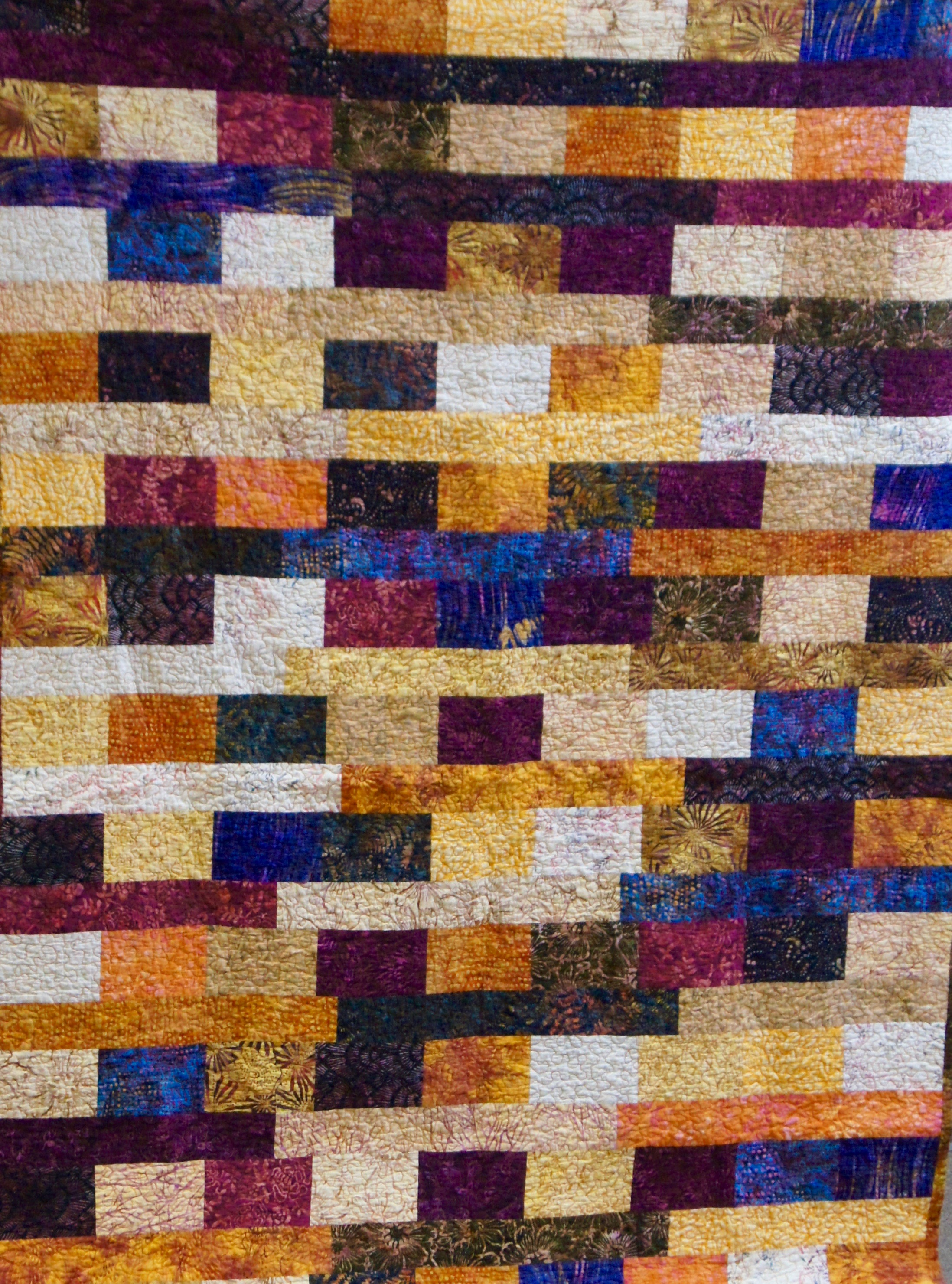 Quilt top by Stephanie