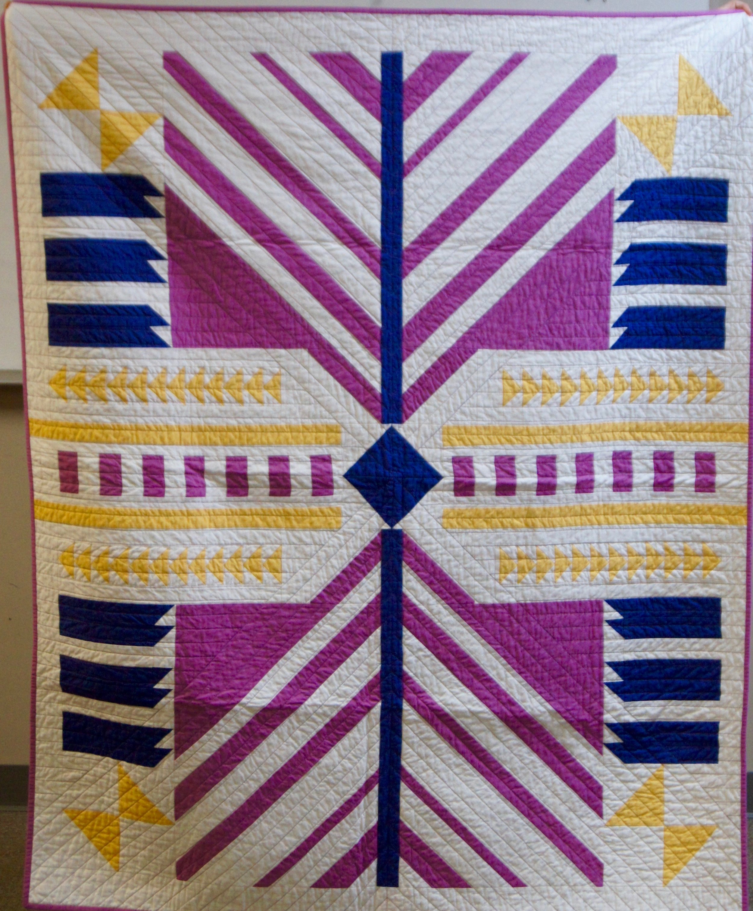 Timber Quilt by Kelly Spell
