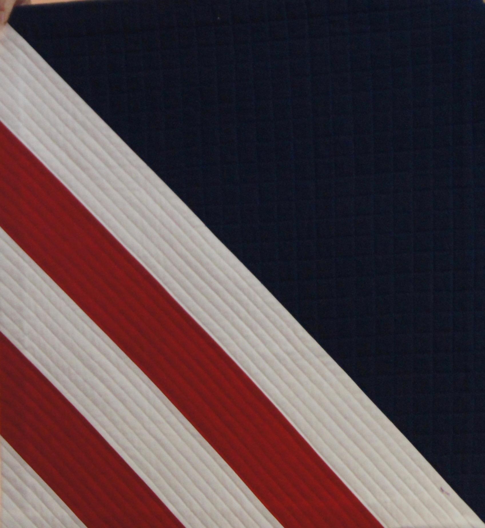 Modern Roman stripe by Pam McCallie