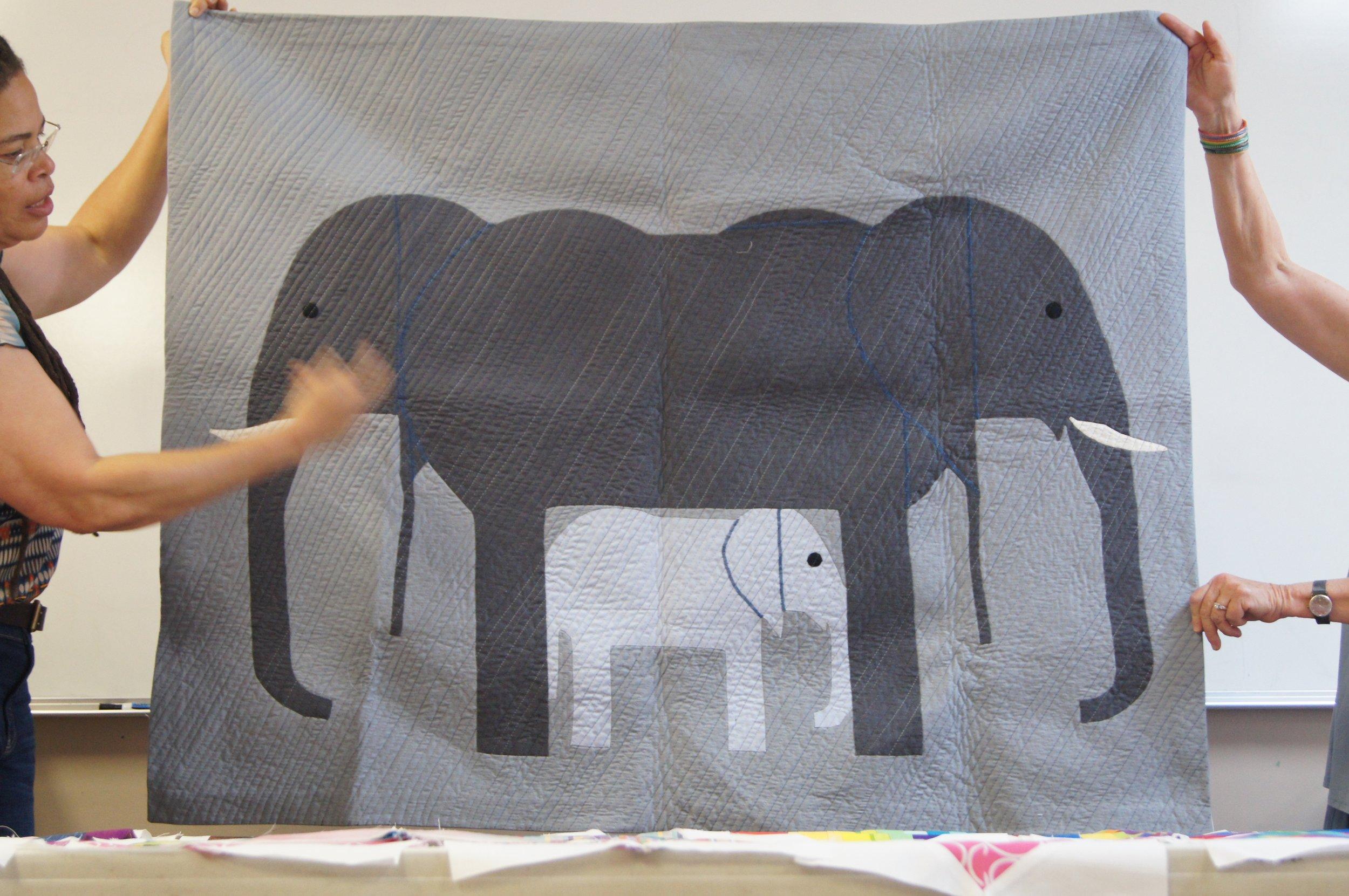 Elephants in the Rain by Vanessa King