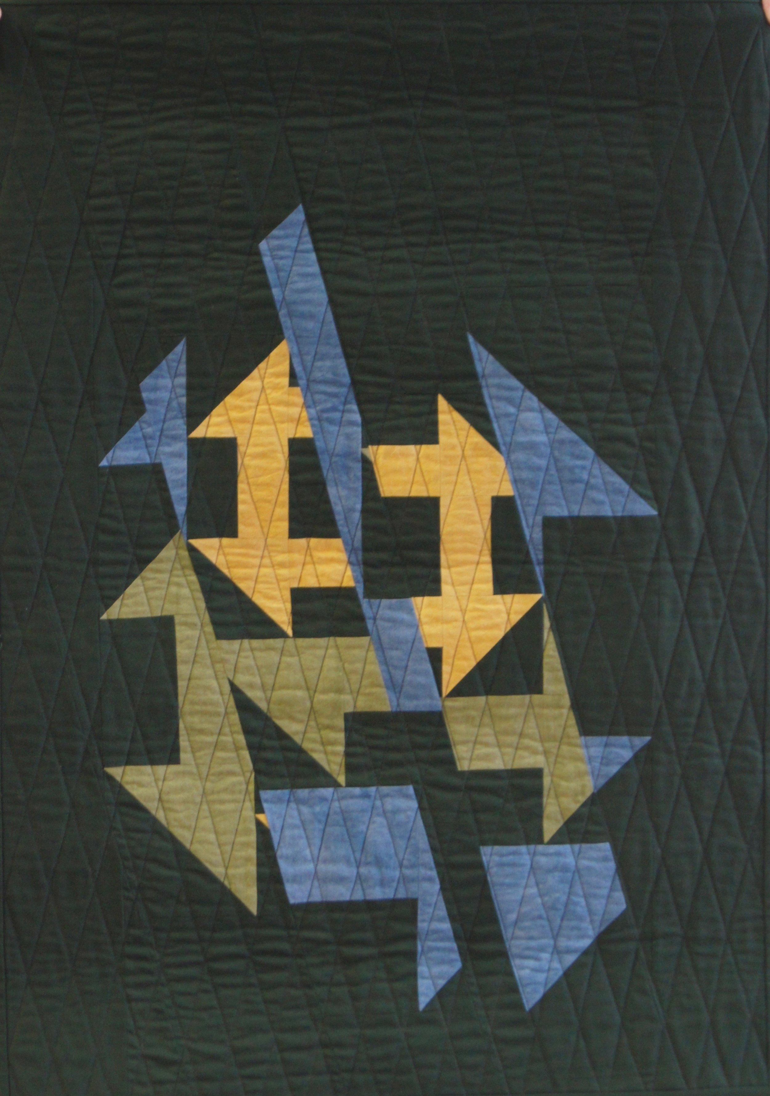 Sliced Churn Dashes by Jean Larson