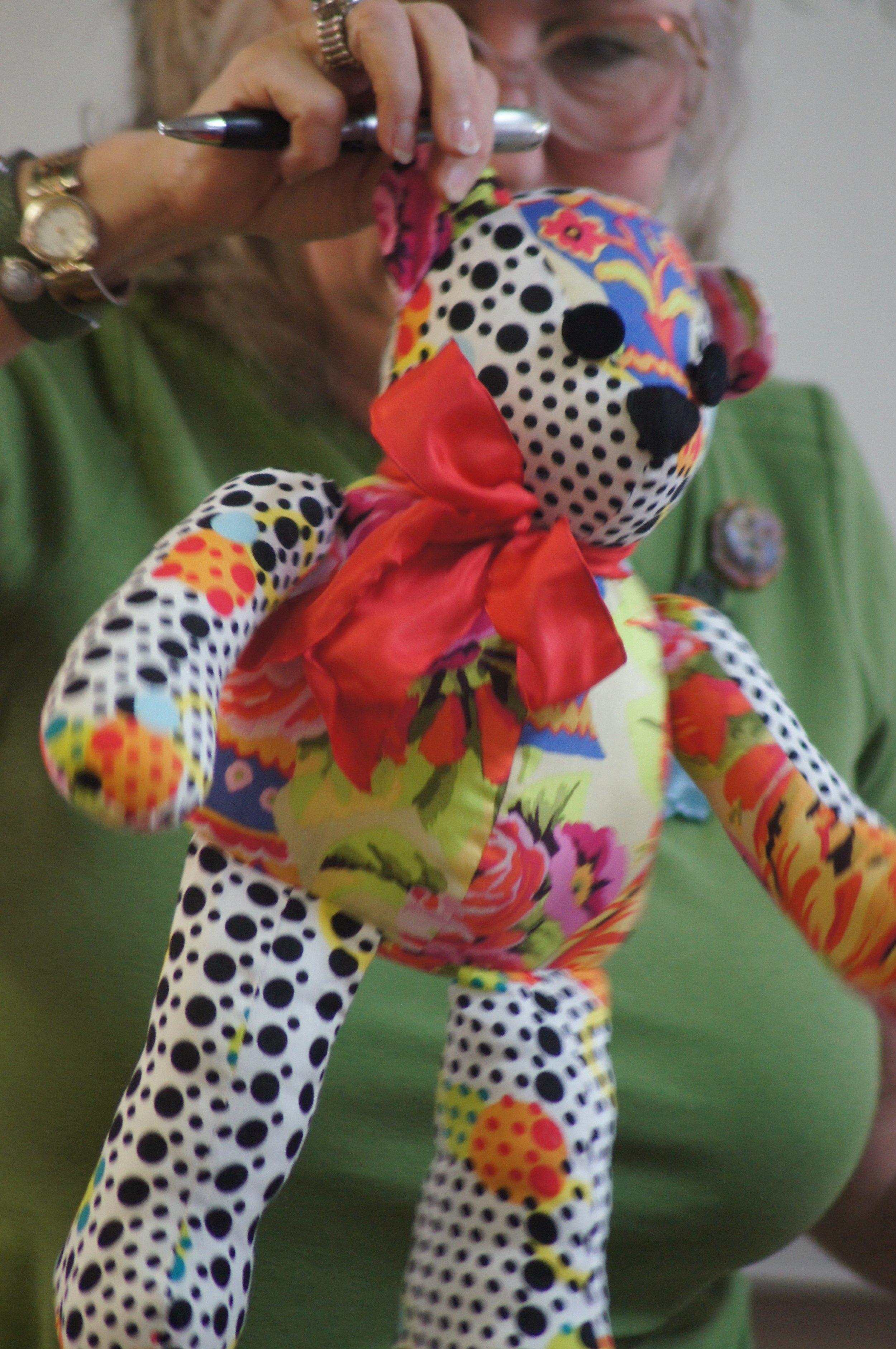 Teddy bear by Jackie Cory