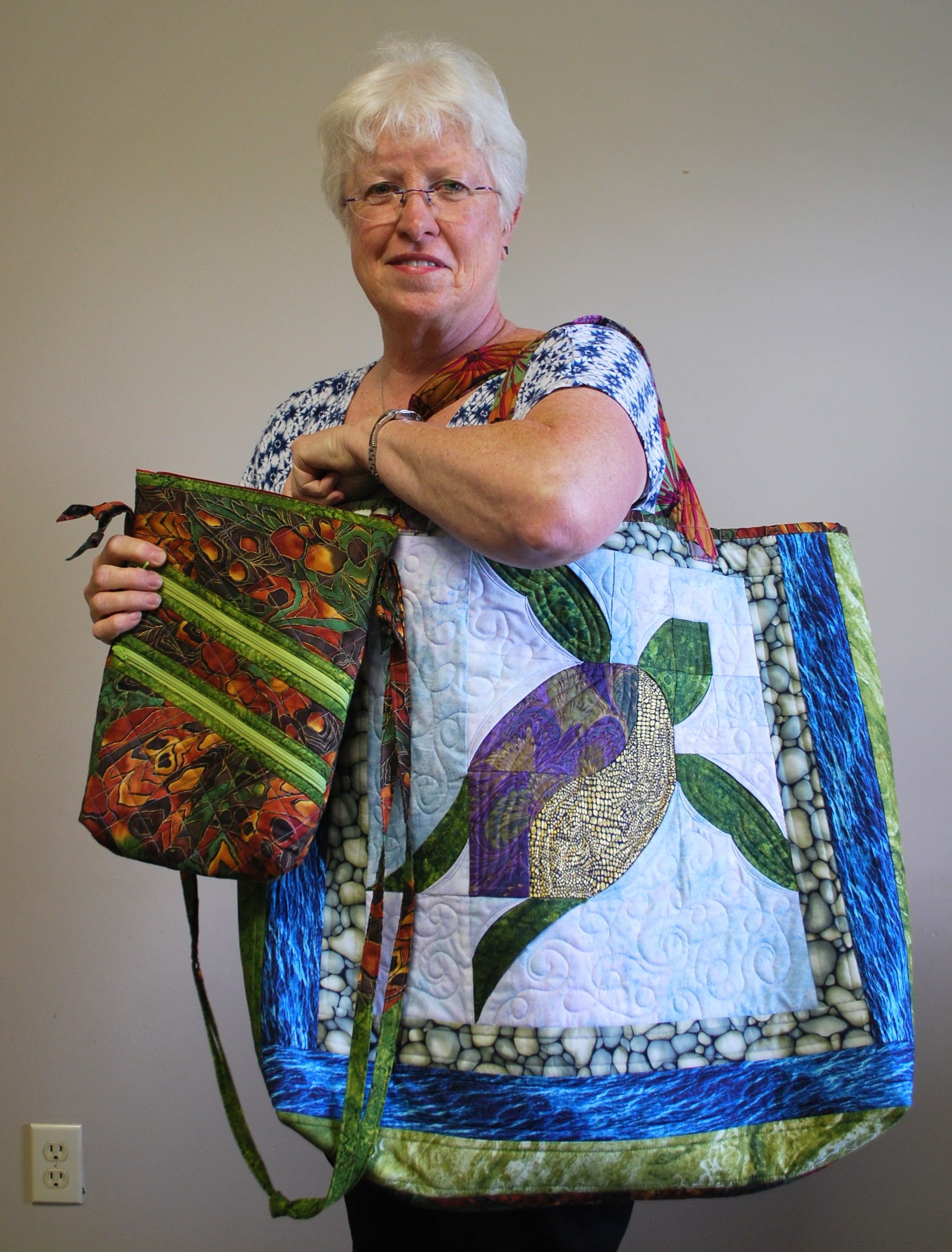 Beautiful bags by Martha Steele