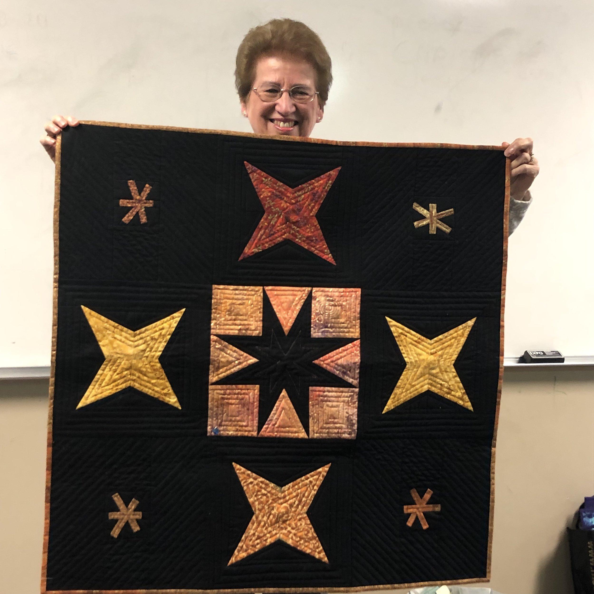 Theresa's Batik Quilt