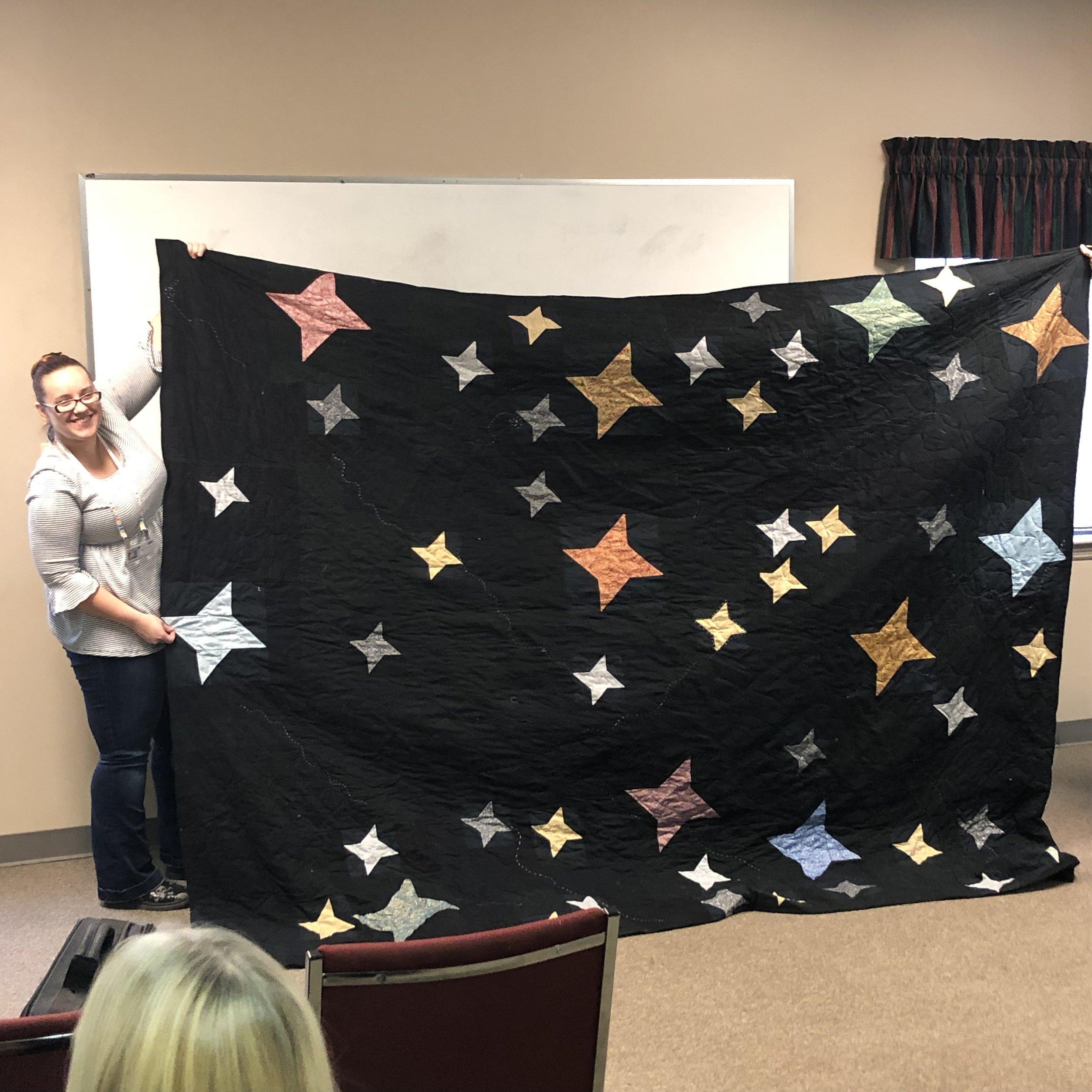 Stephanie's Star Quilt