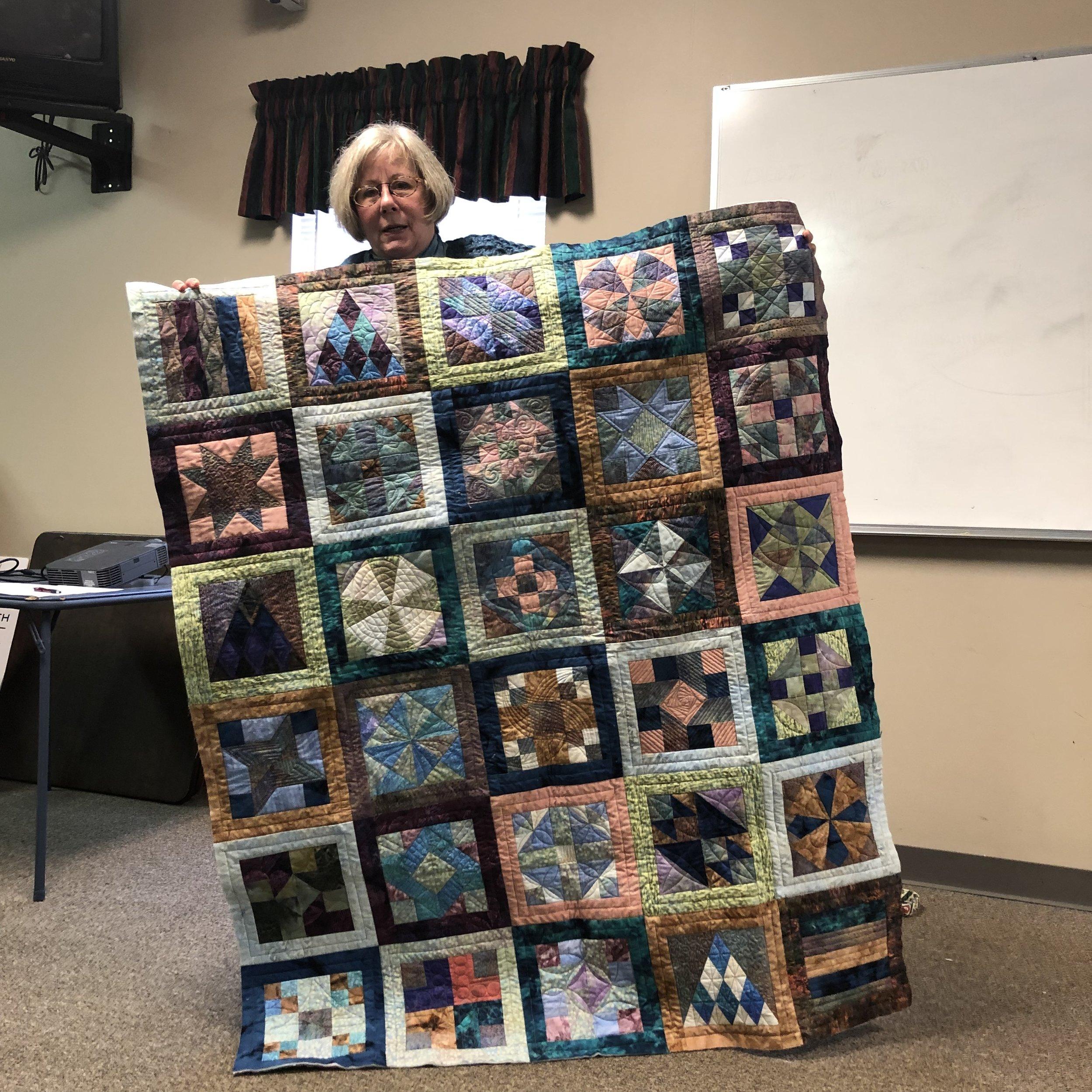 Patricia's Batik Quilt