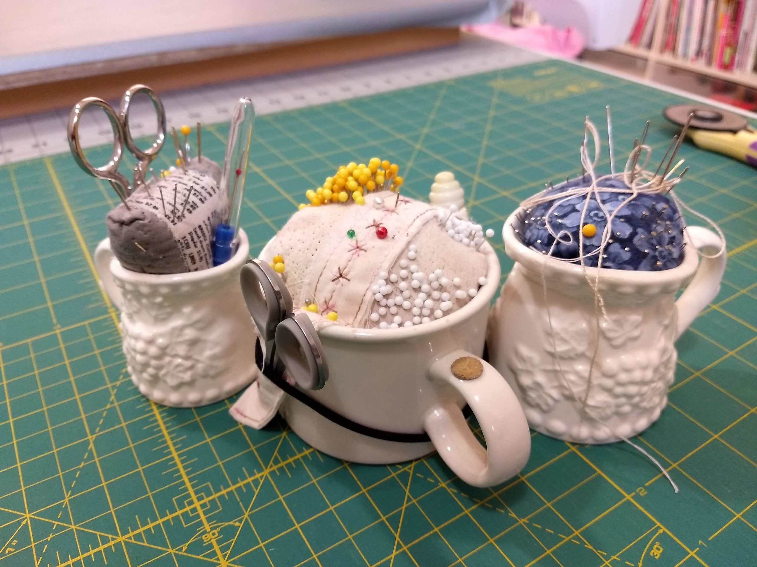 Pincushion Mugs