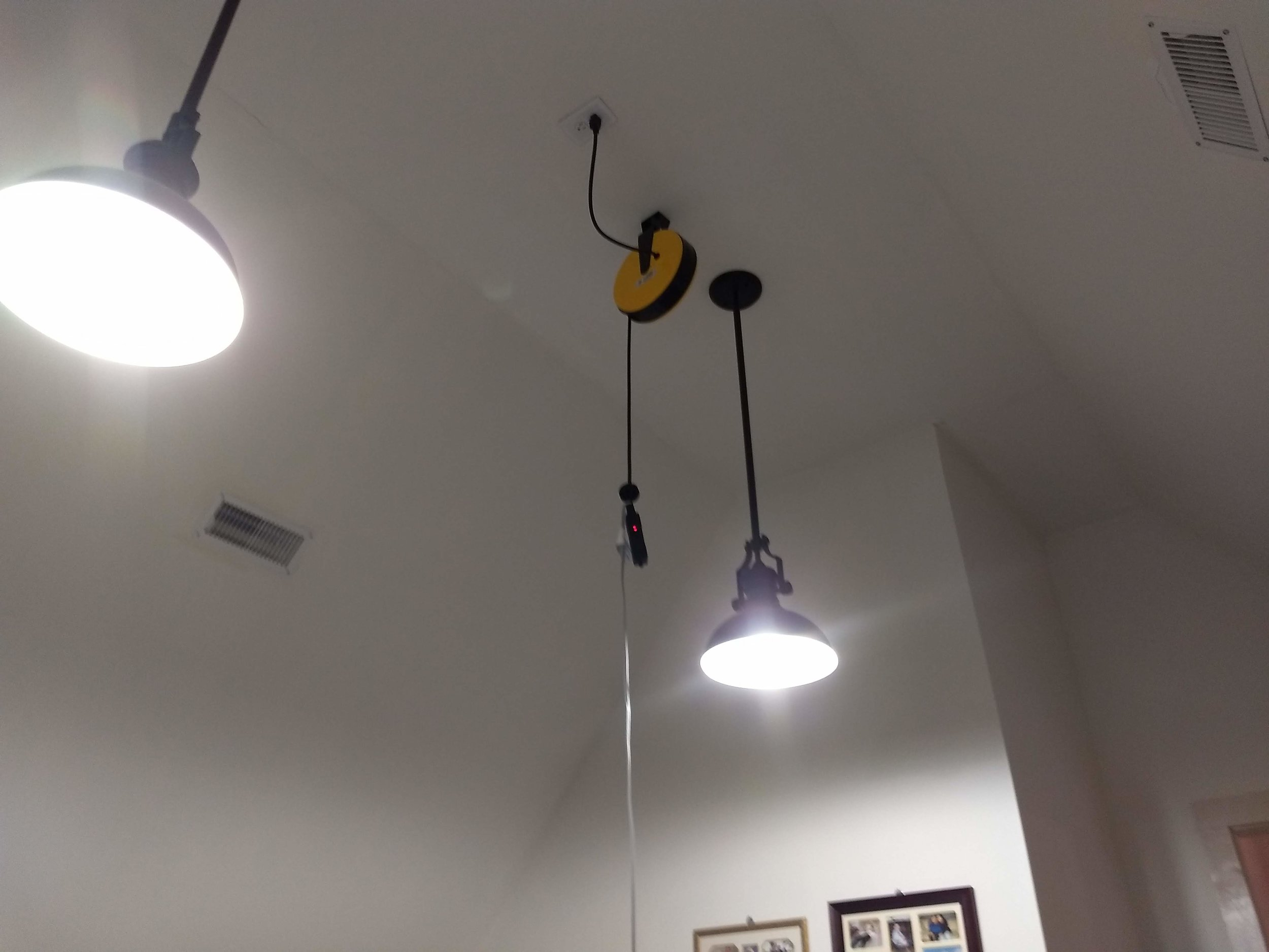 Hanging Power Cord Reel