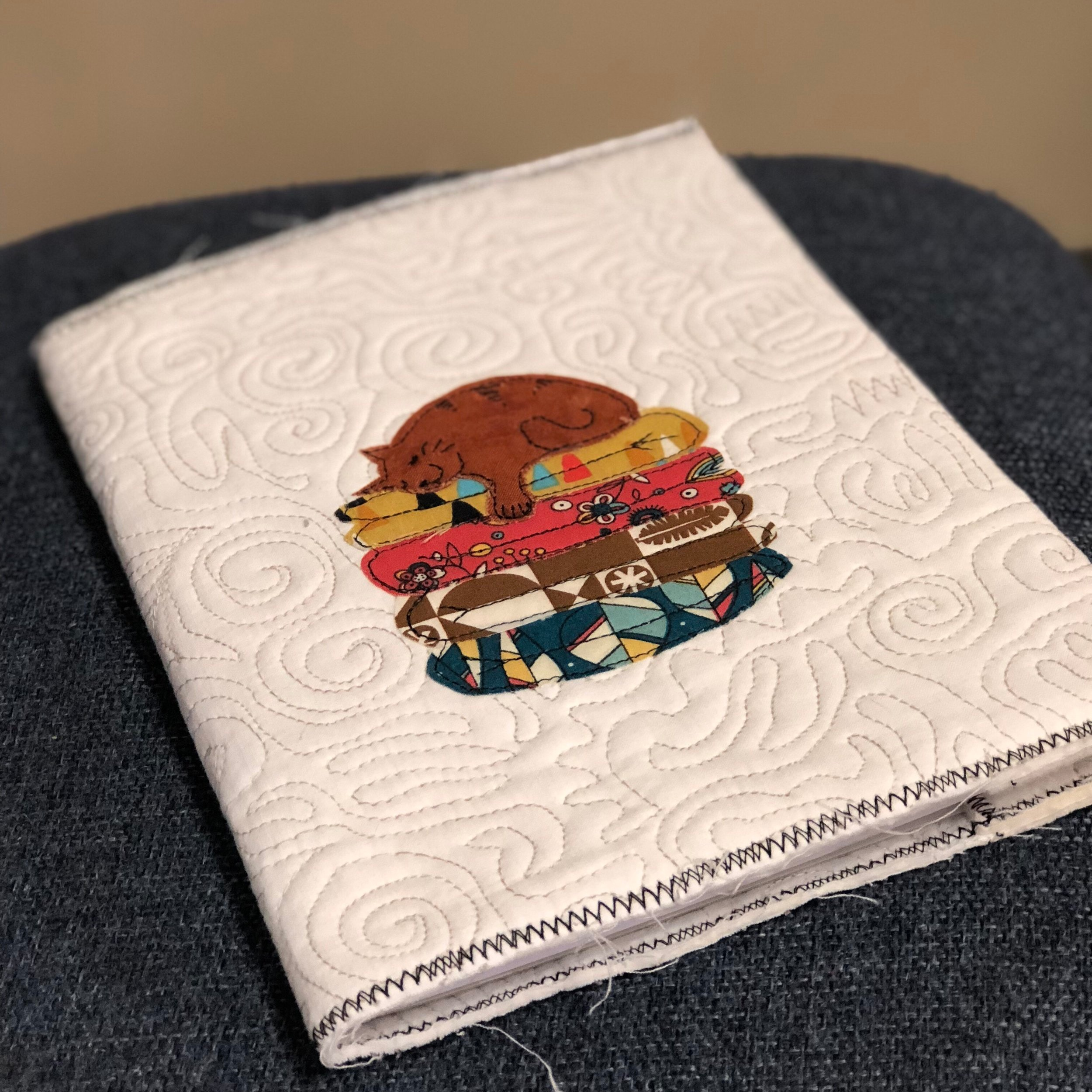 Quilt Sandwich Notebook Cover