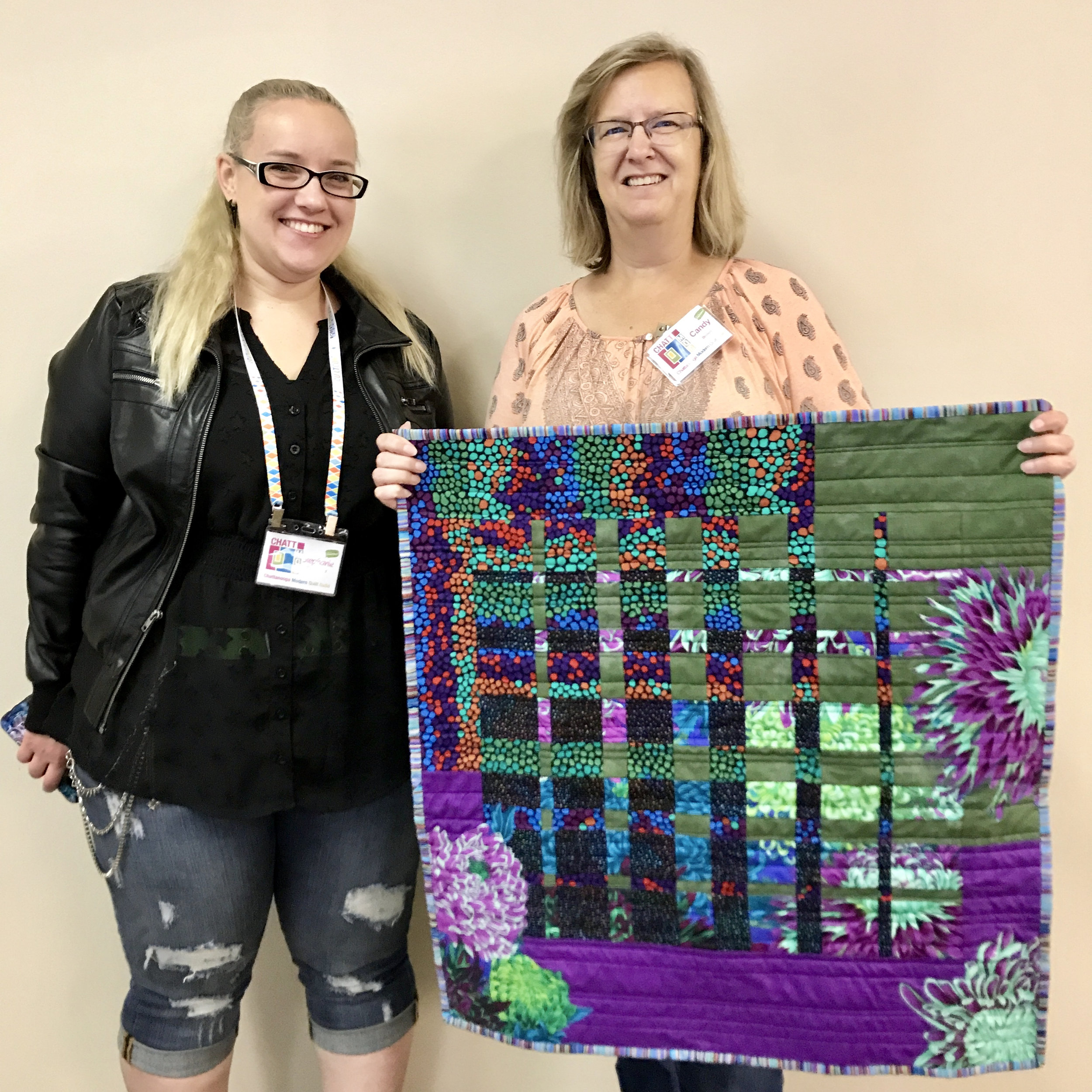 Quilt by Candy Brown (right)