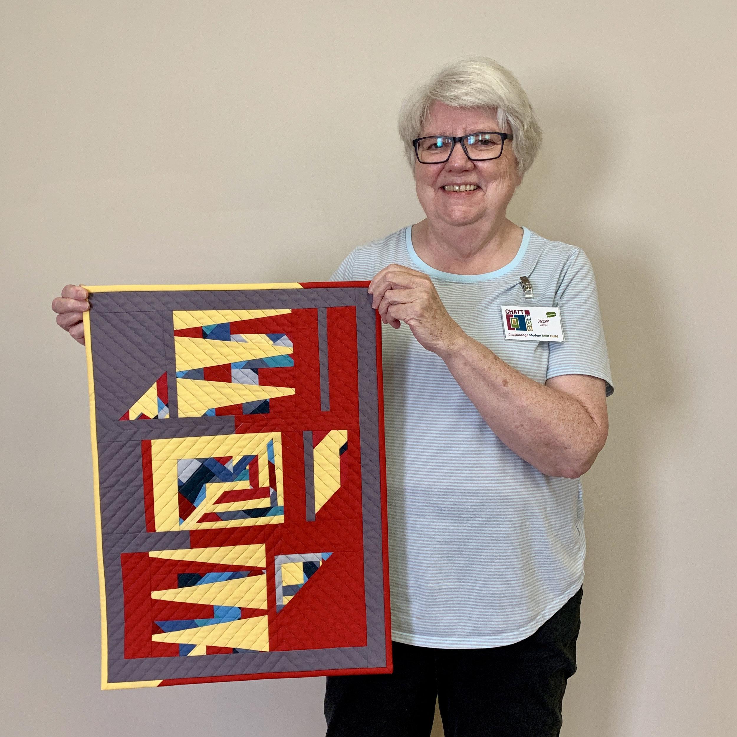 Set it Free Challenge quilt by Jean Larson