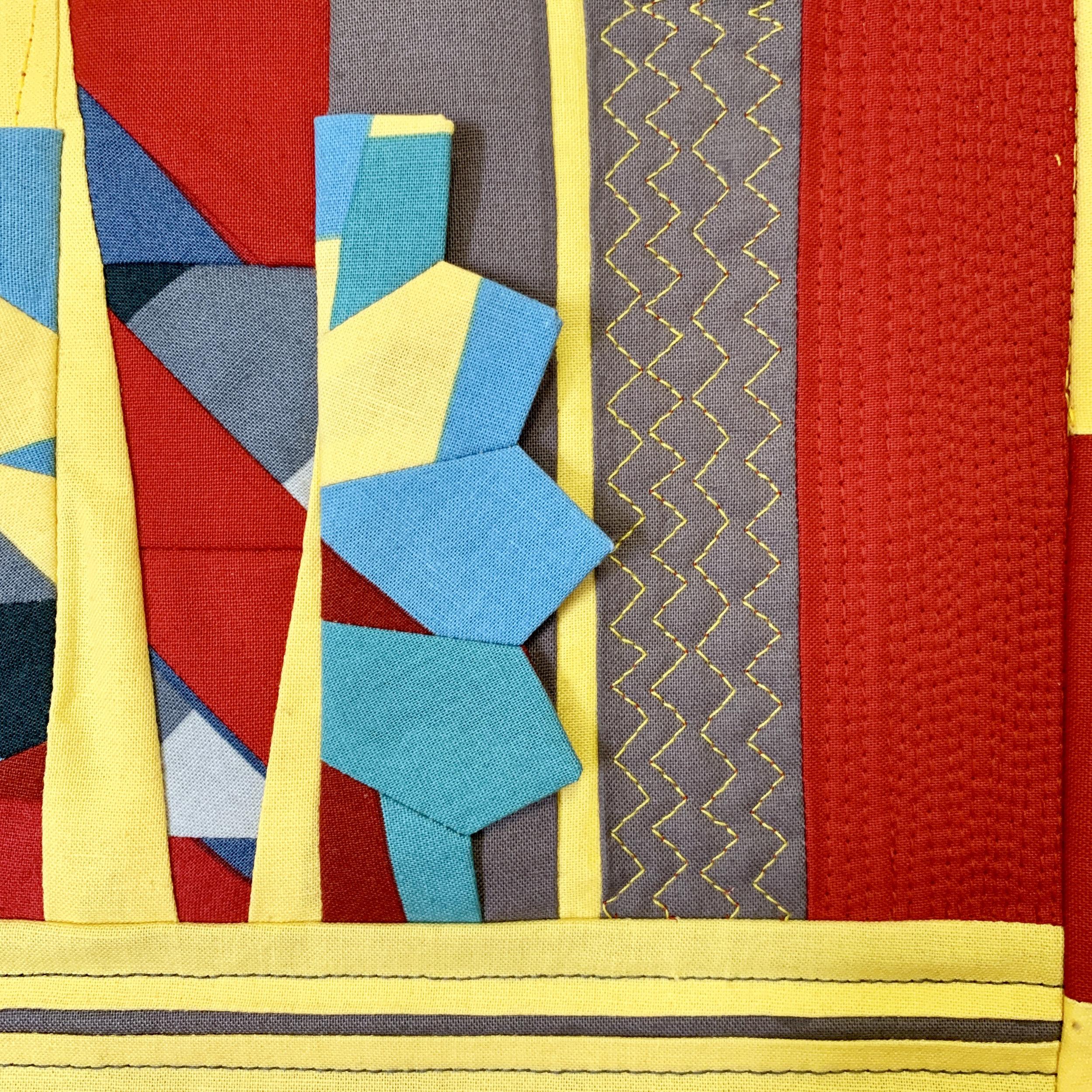 Detail of Patti Ann's quilt