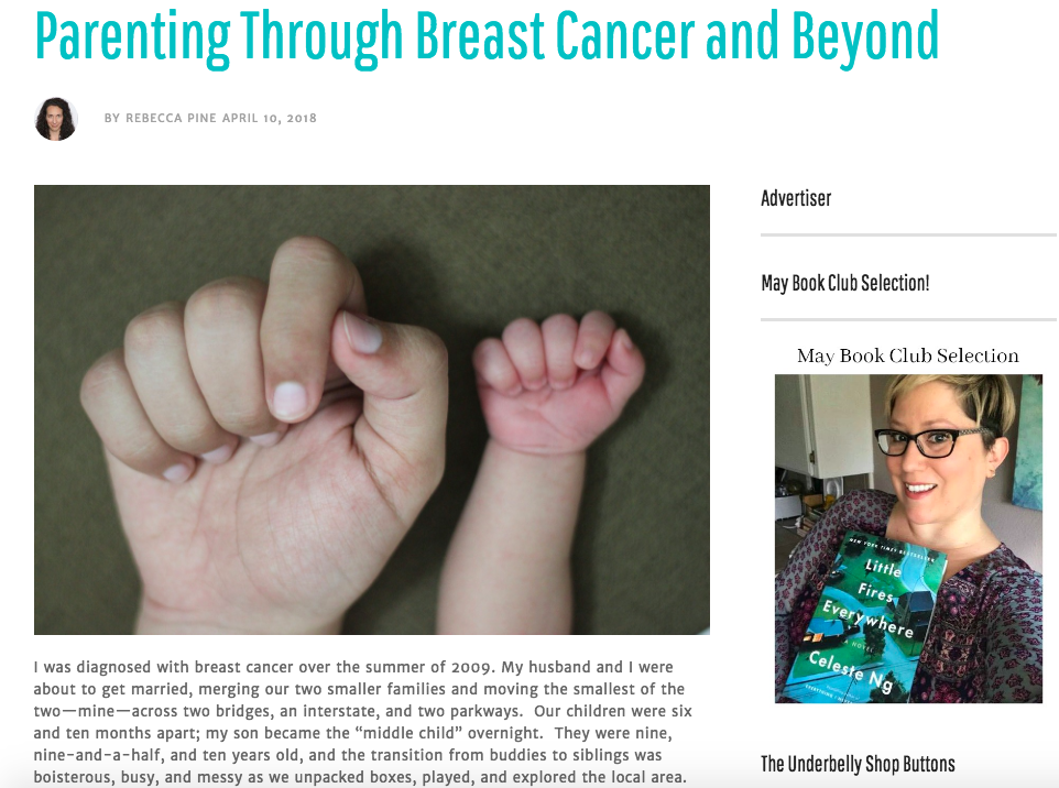 Writing - Thought-provoking narratives on loss, breast cancer, and transformation