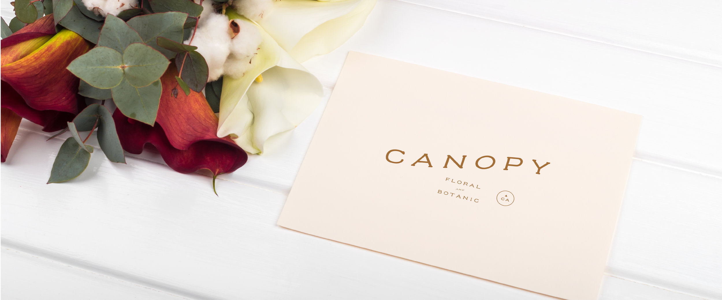 Canopy Floral and Botanic Custom Brand Design by Viola Hill Studio