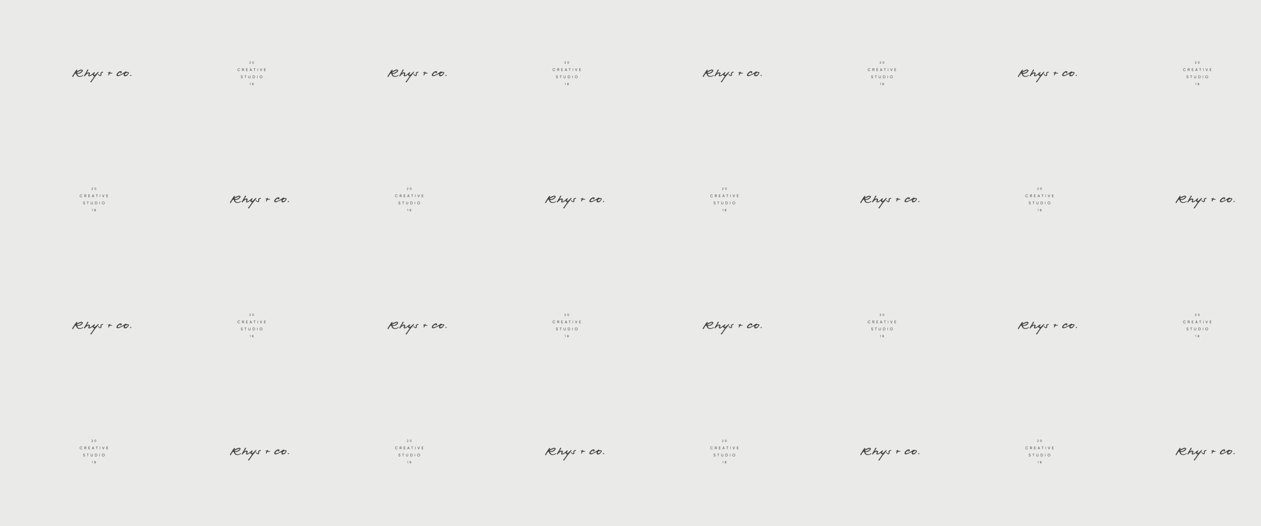Rhys + Co Custom Brand Design by Viola Hill Studio