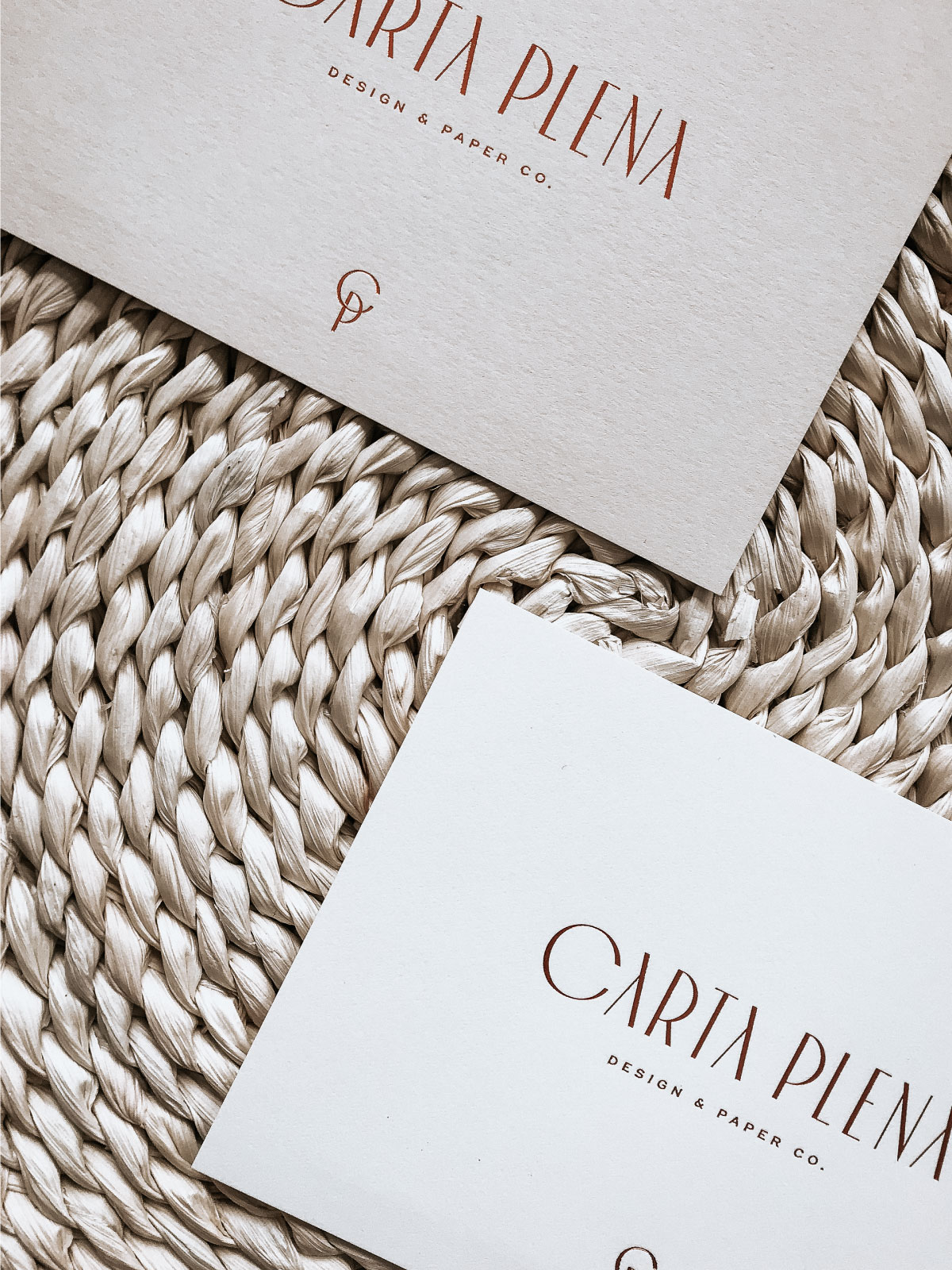 Carta Plena Custom Brand and Web Design by Viola Hill Studio